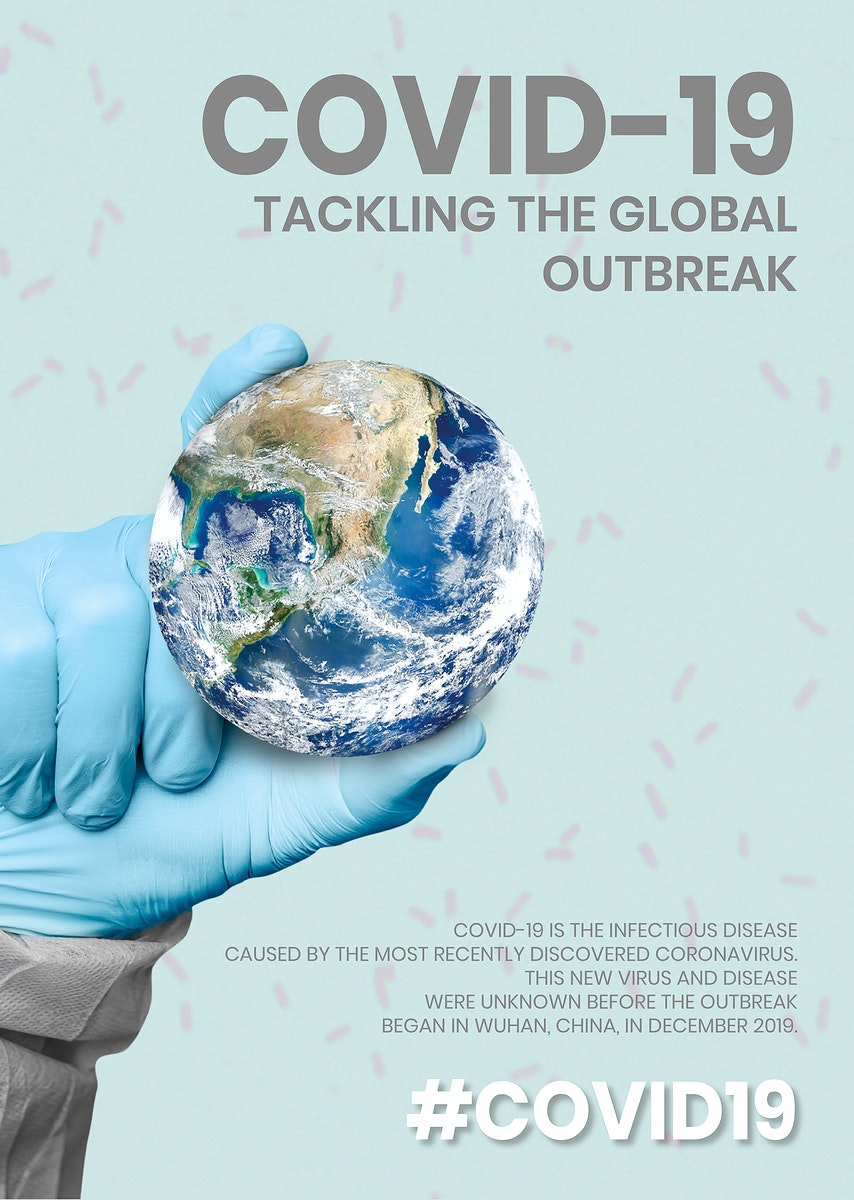 COVID-19 tackling the global outbreak template source WHO vector