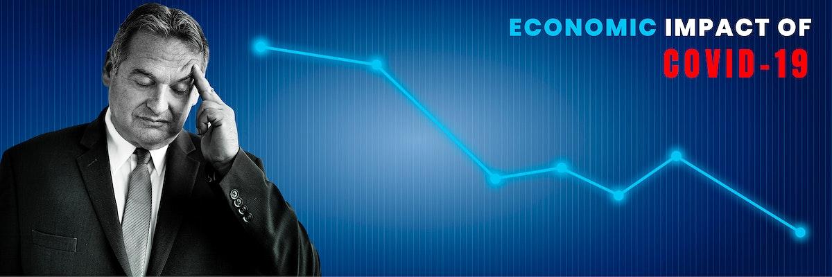 Economic impact of COVID-19 vector