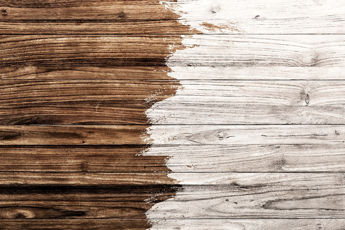 Pale white and brown wooden textured flooring background