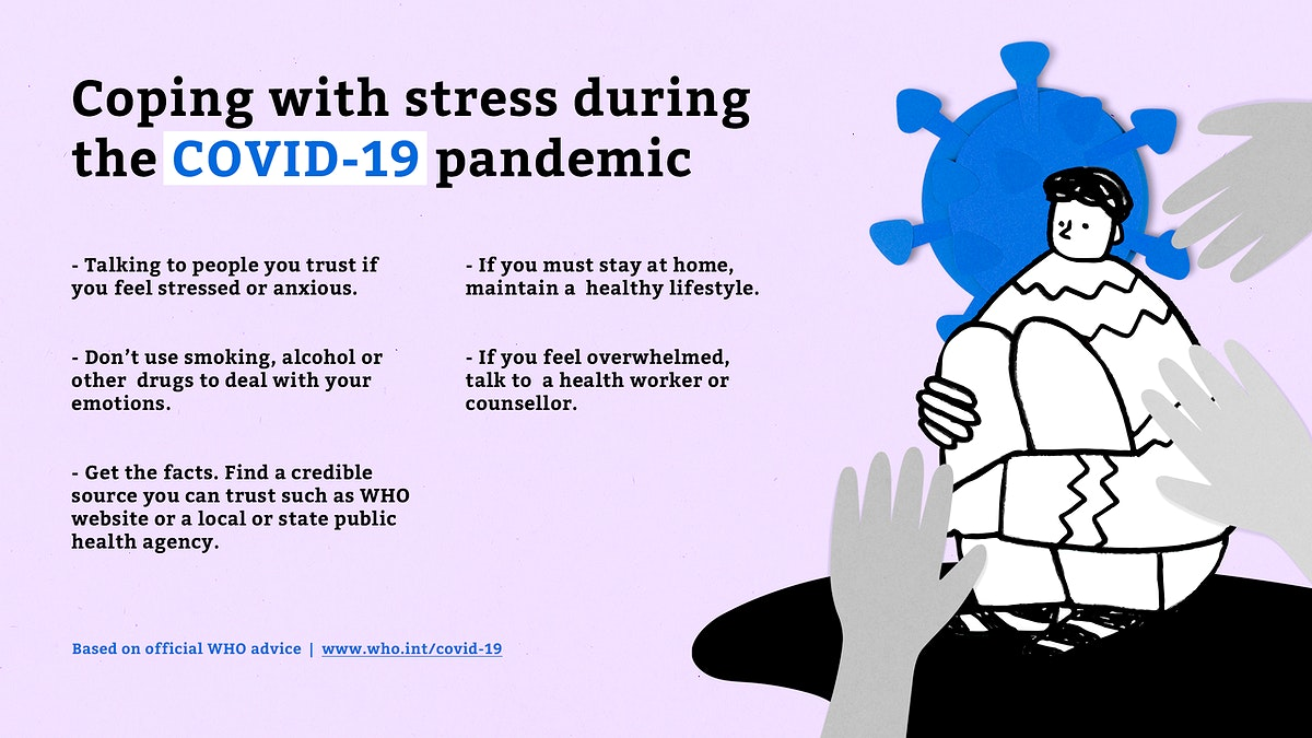 Coping with stress during the COVID-19 pandemic temlpate source WHO