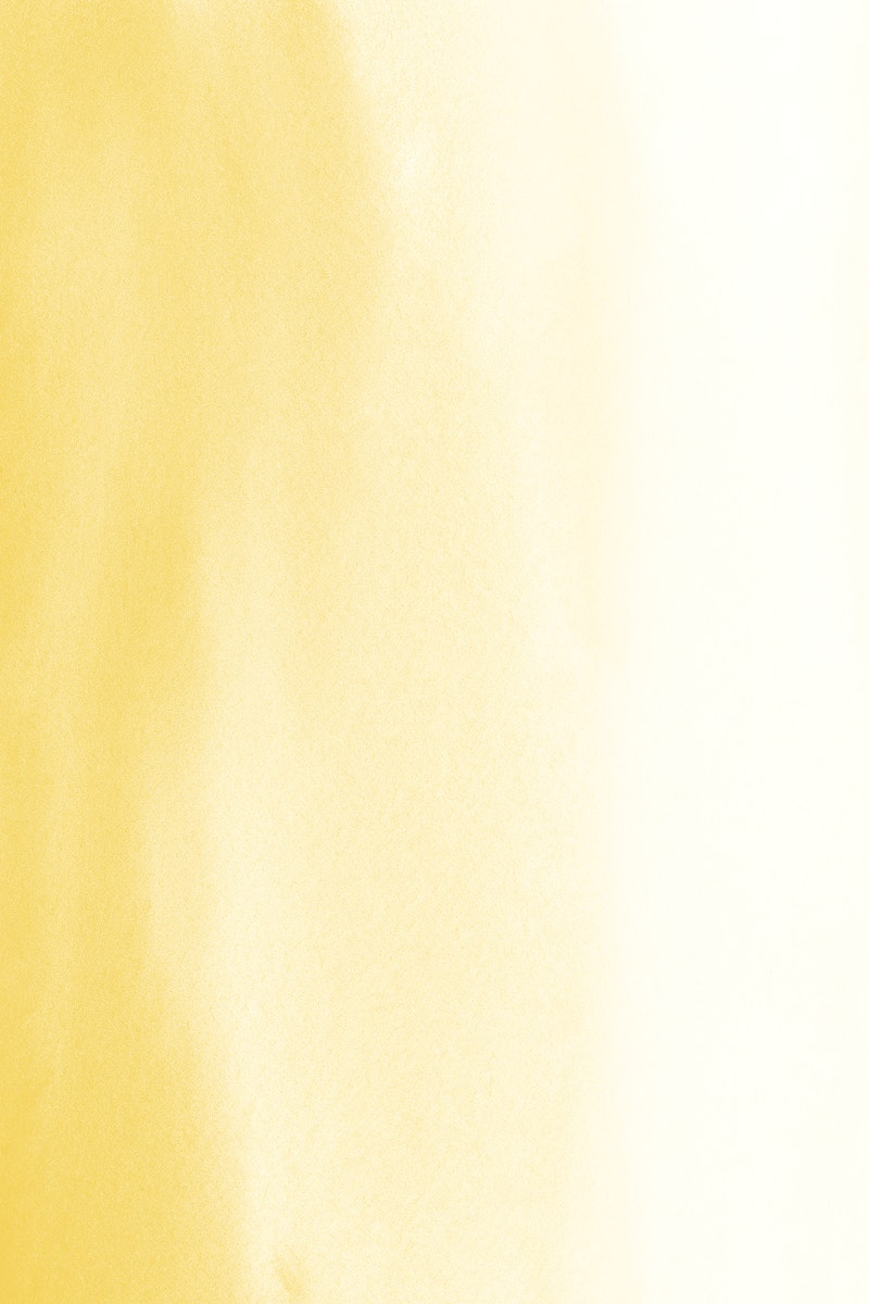Watercolor textured yellow background