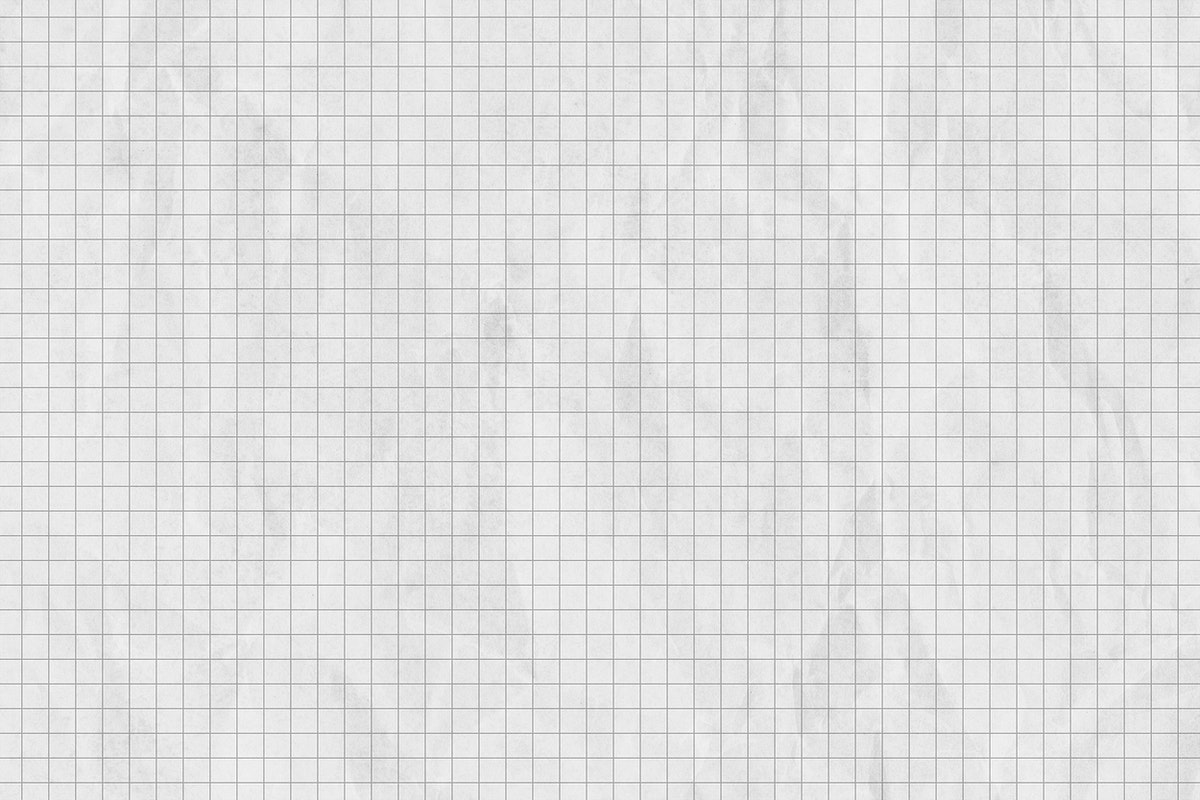 Crumpled gray grid paper textured background