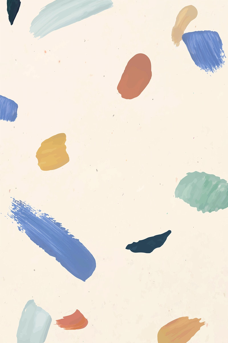 Colorful paint brush vector abstract pattern background