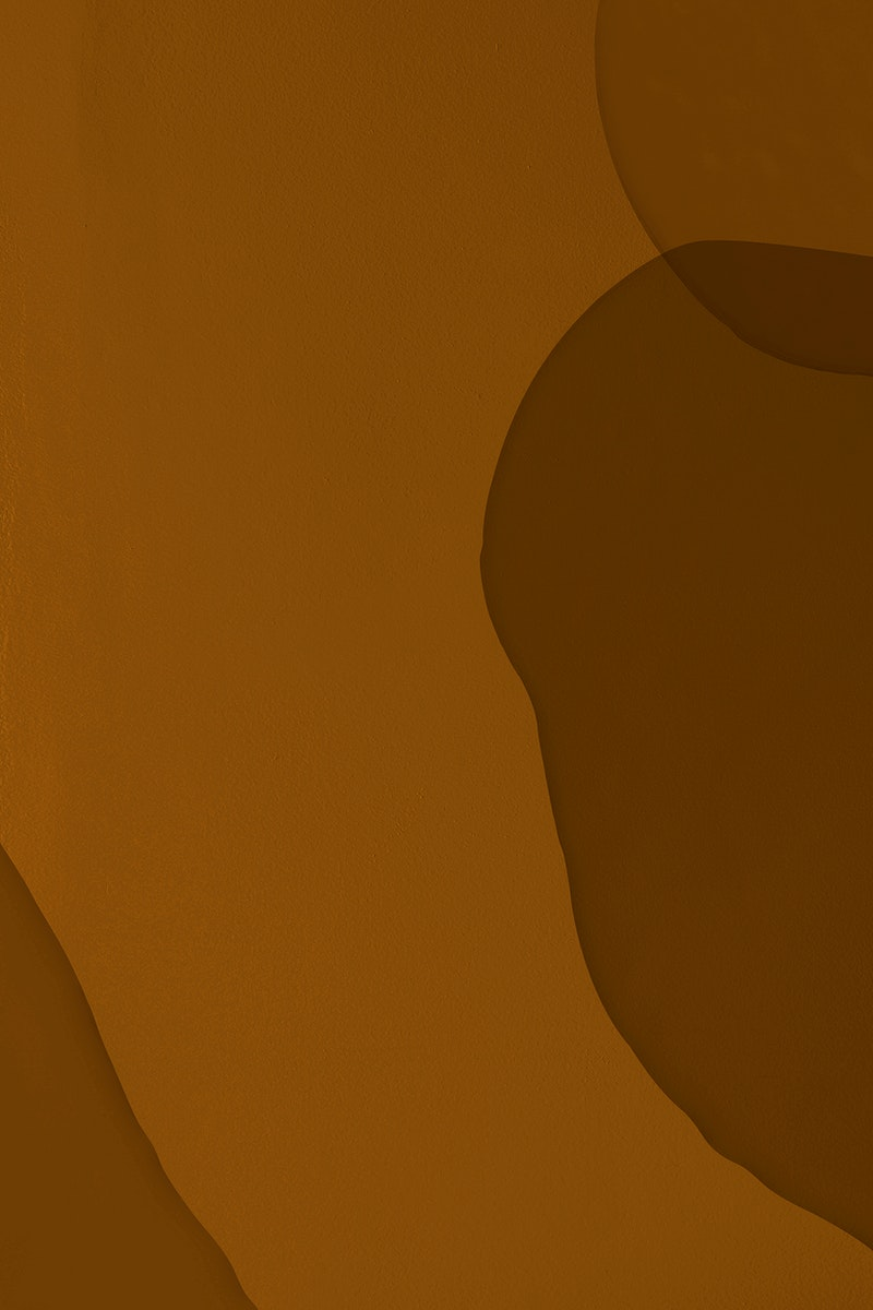 Brown minimal watercolor paint texture background