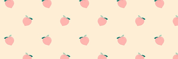 fruit peach pattern pastel background royalty free illustration 2704513 rawpixel