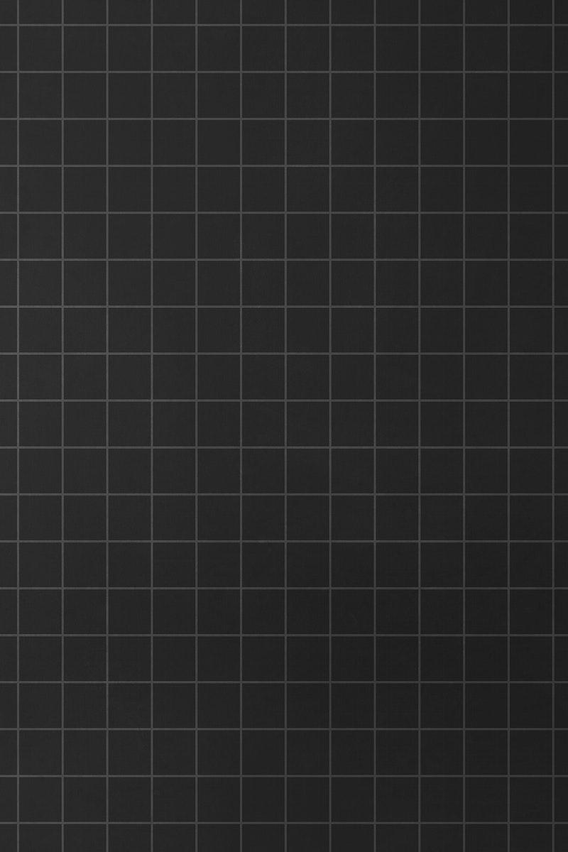 Grid black aesthetic minimal plain ...