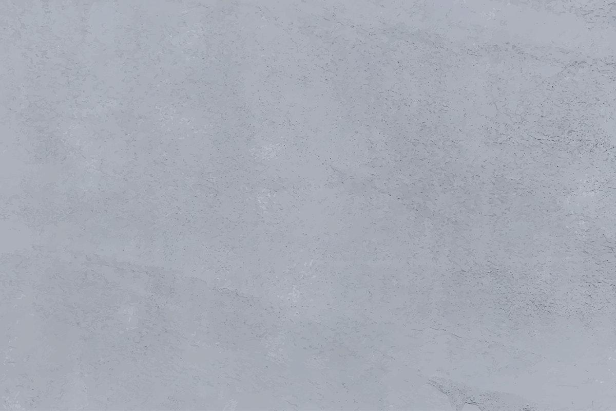 Gray plain concrete textured background vector