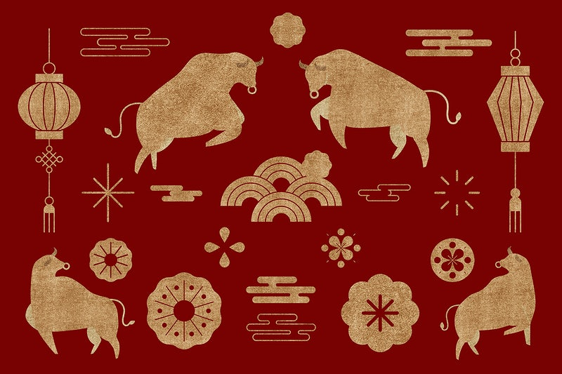Image result for rawpixel chinese ox