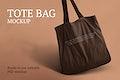 Canvas tote bag mockup psd eco friendly product
