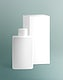 Hand wash bottle product packaging in minimal design
