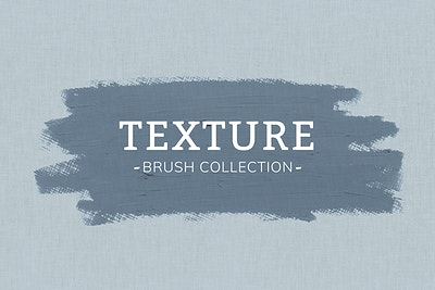 Download premium psd of oil paint brush stroke texture on a canvas