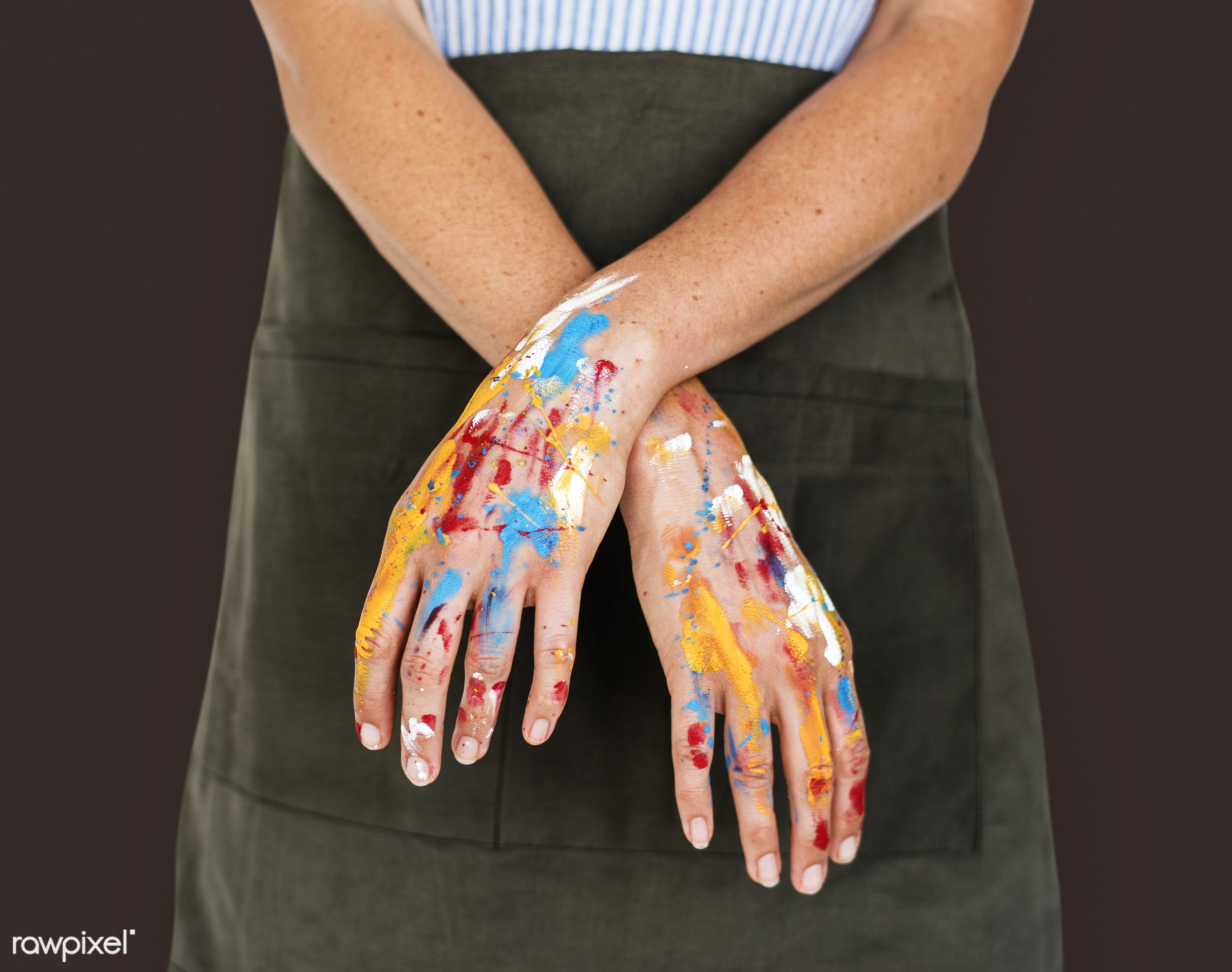 studio, person, model, race, people, style, solo, woman, casual, lifestyle, feminism, isolated, gesture, paint, posing,...