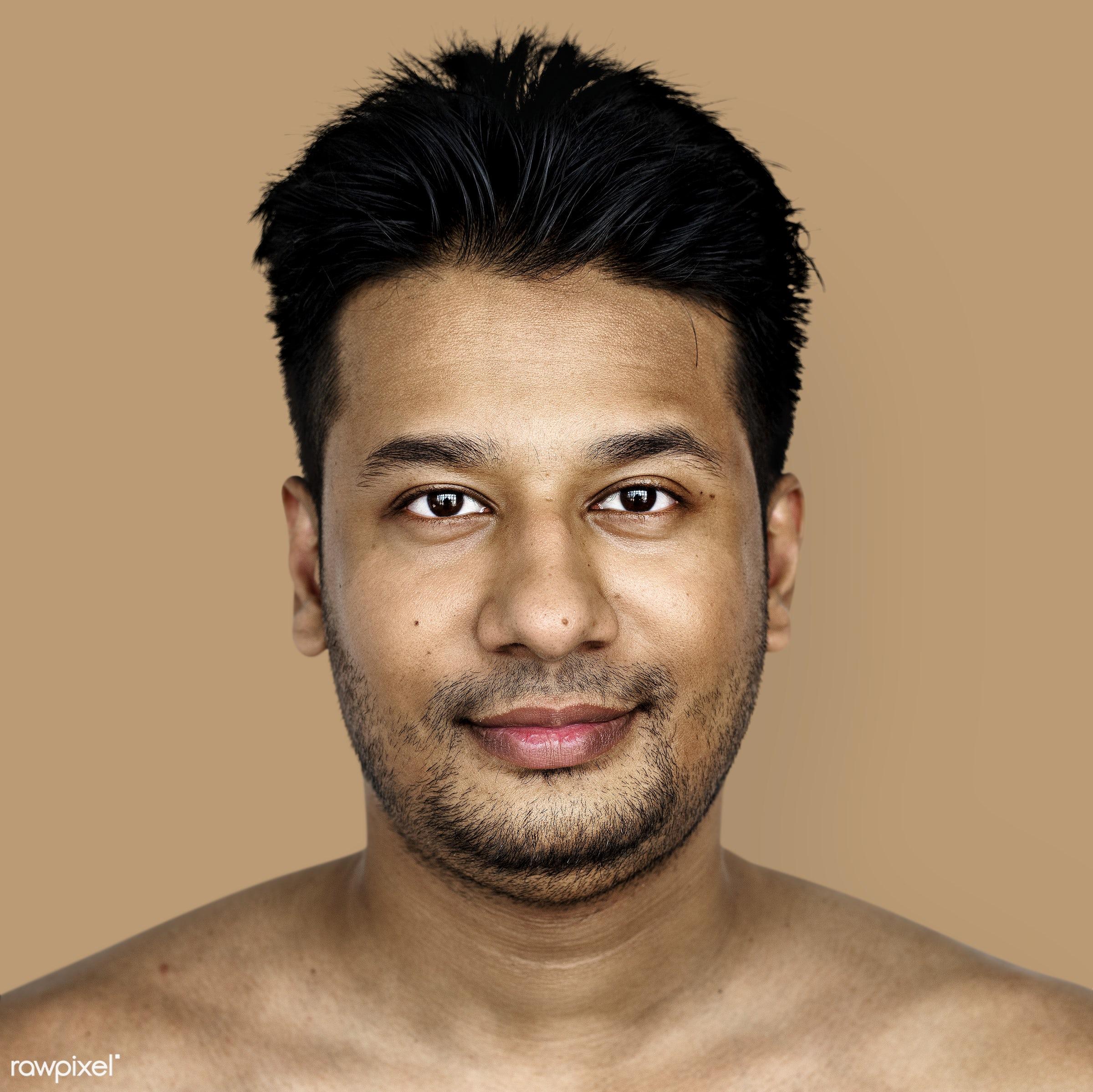 Portrait of a Bangladeshi man - adult, alone, asia, asian, bangladesh, bangladeshi, beard, casual, cheerful, closeup,...
