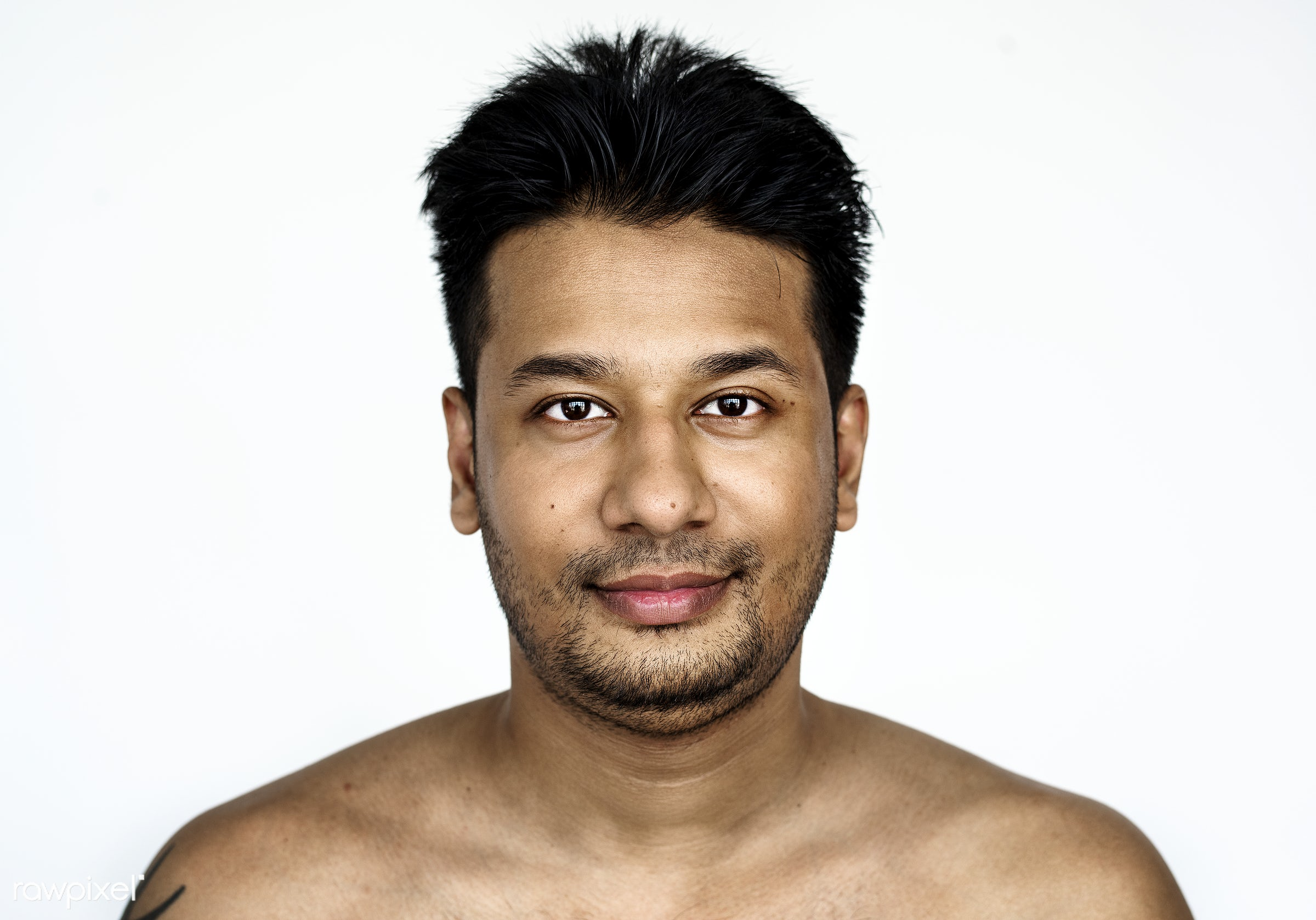 Portrait of a Bangladeshi man - portrait, bangladesh, face, studio, adult, alone, asia, asian, bangladeshi, beard, casual,...