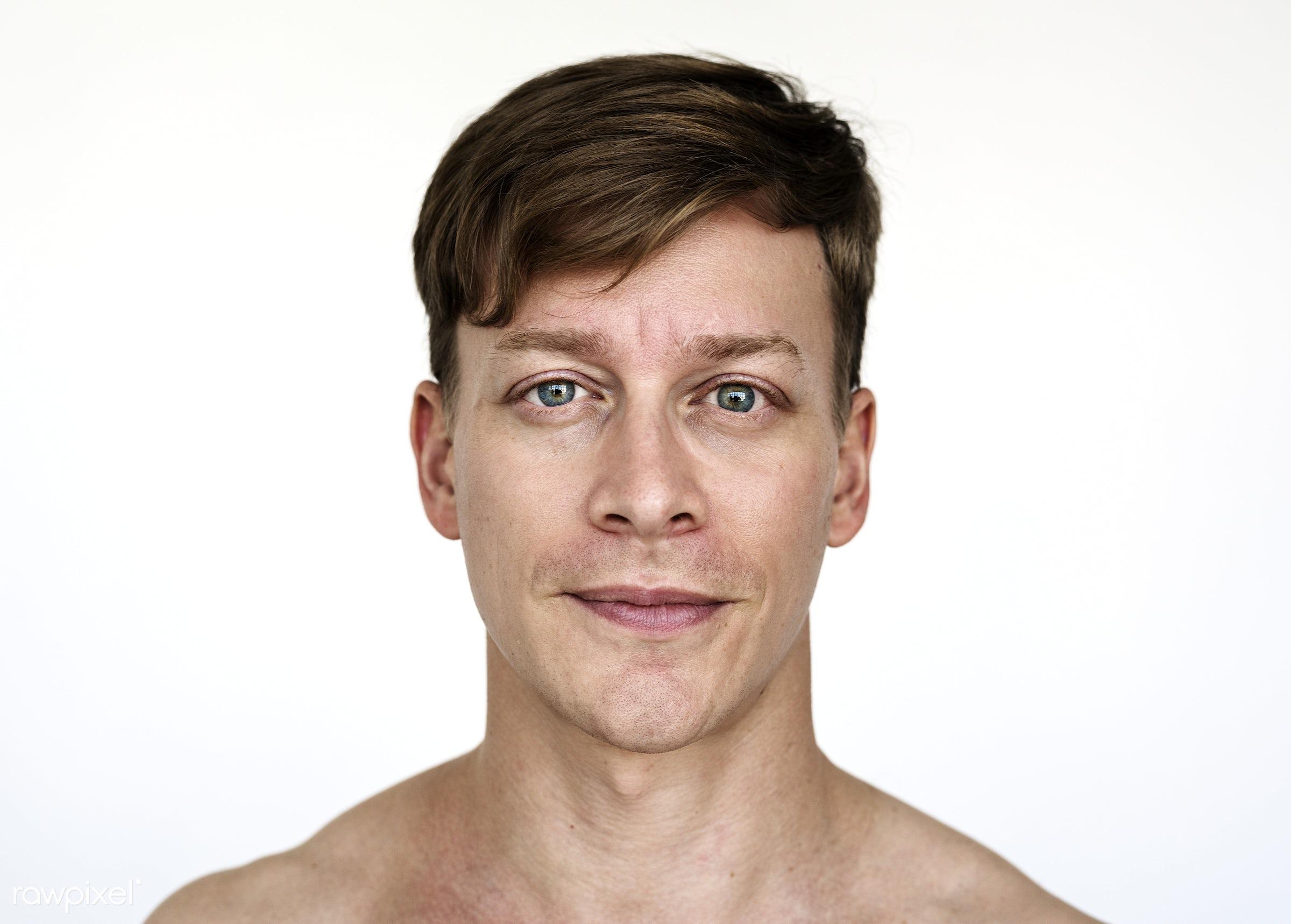 Portrait of an Austrian man - adult, alone, american, austria, austrian, caucasian, cheerful, closeup, content, europe,...