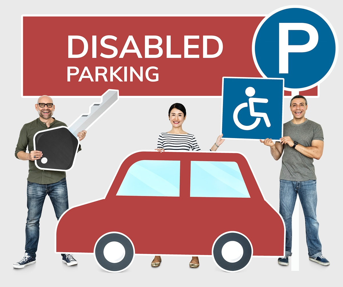 People with disabled car parking