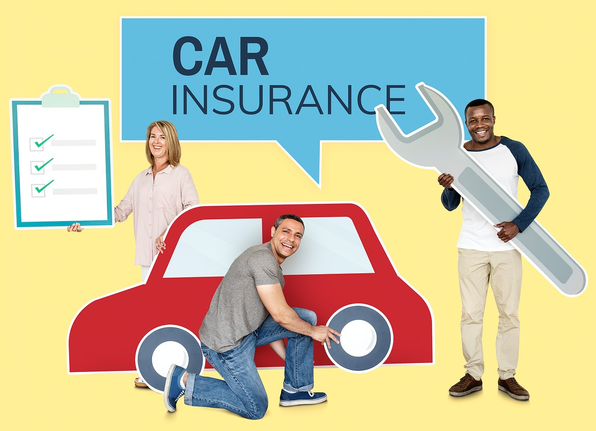 People with a car insurance policy