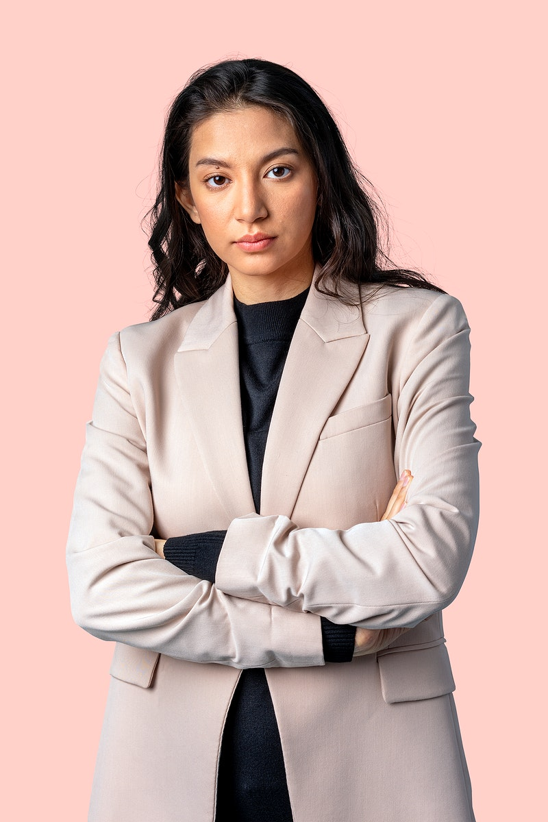 Asian businesswoman in a blazer