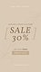 Promotion template psd for social media story with beige color