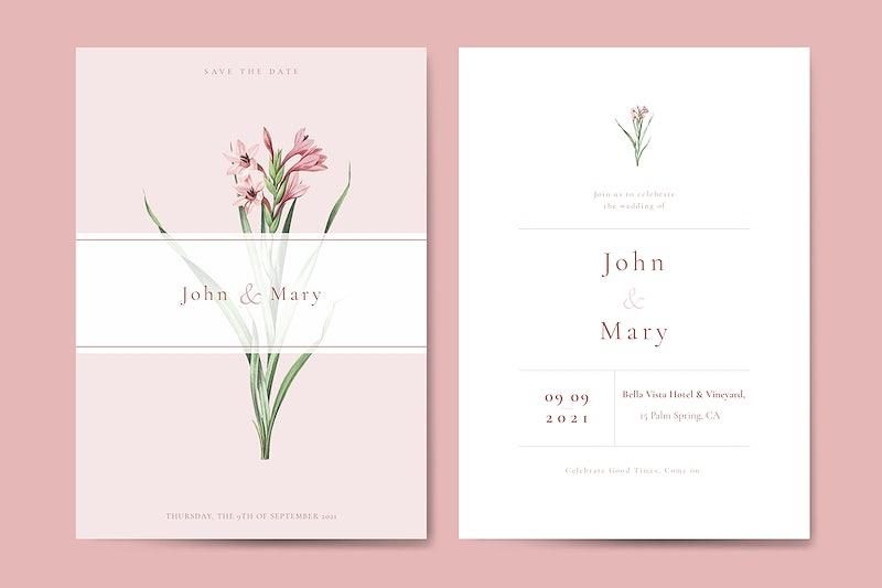 invitation card templates royalty free