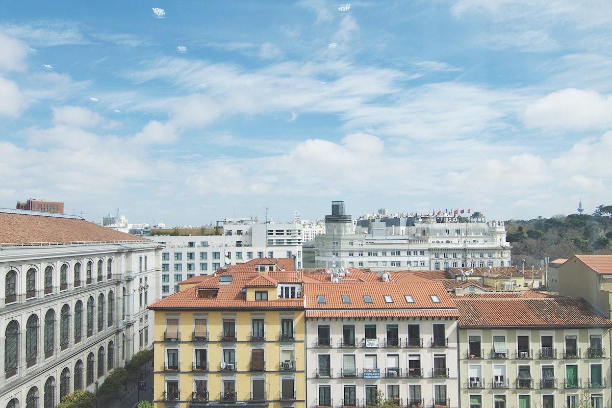 Museo Nacional Centro de Arte Reina Sofía, Madrid, Spain. Original public domain image from Wikimedia Commons