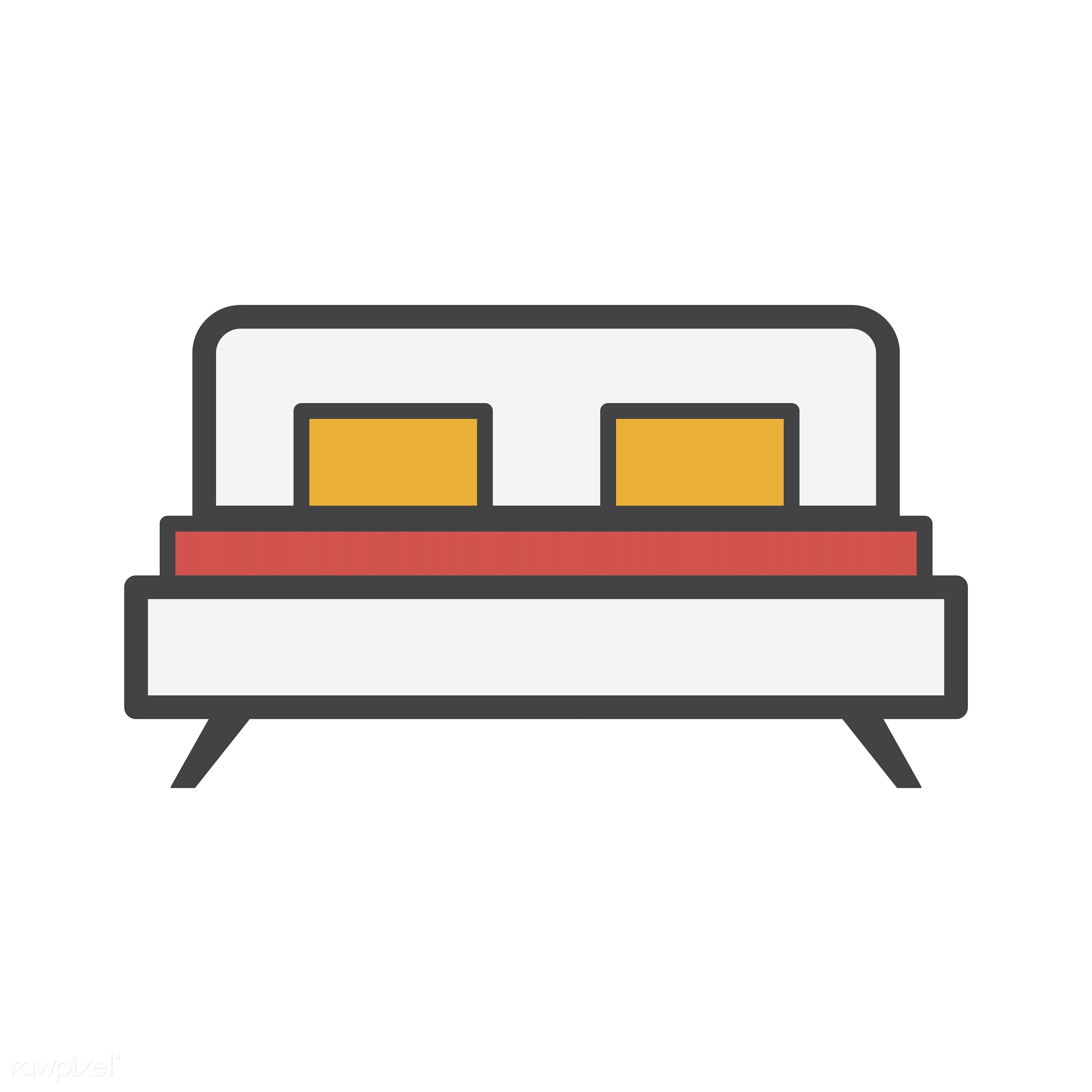 bed, abode, adults, comfort, cozy, dwelling, home, homely, house, household, living, pad, pilows, residence, vector, warmth