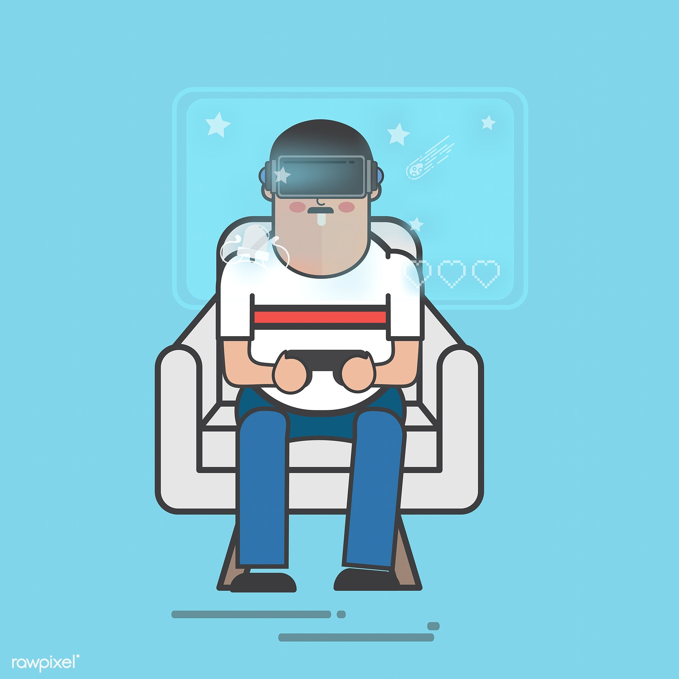 Download premium vector about vr, 3d and 4d 77283
