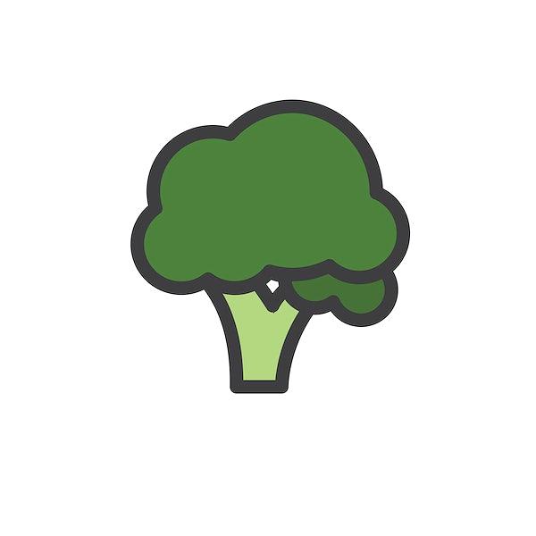 illustration of a broccoli free vector 77202 illustration of a broccoli free