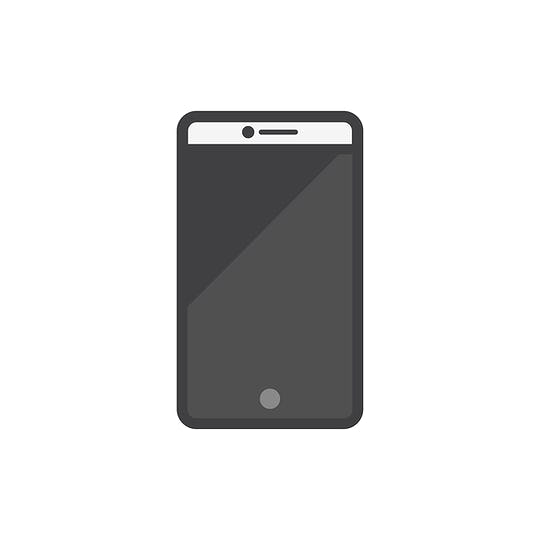 Illustration of mobile phone icon