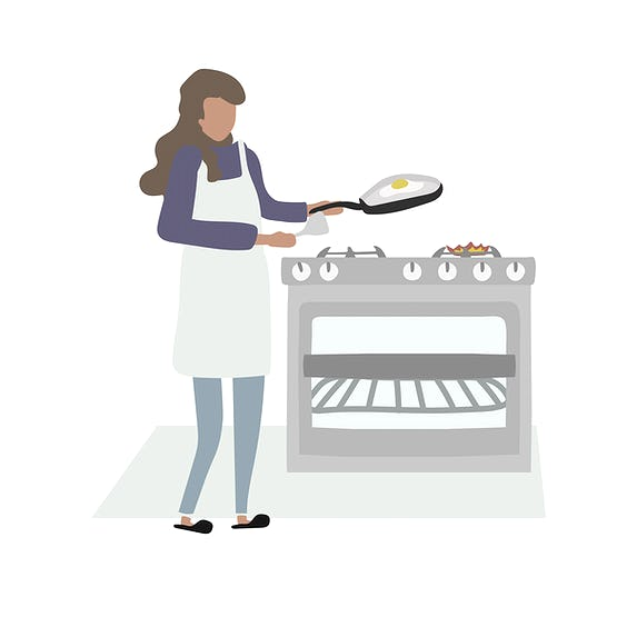 woman-cooking-eggs