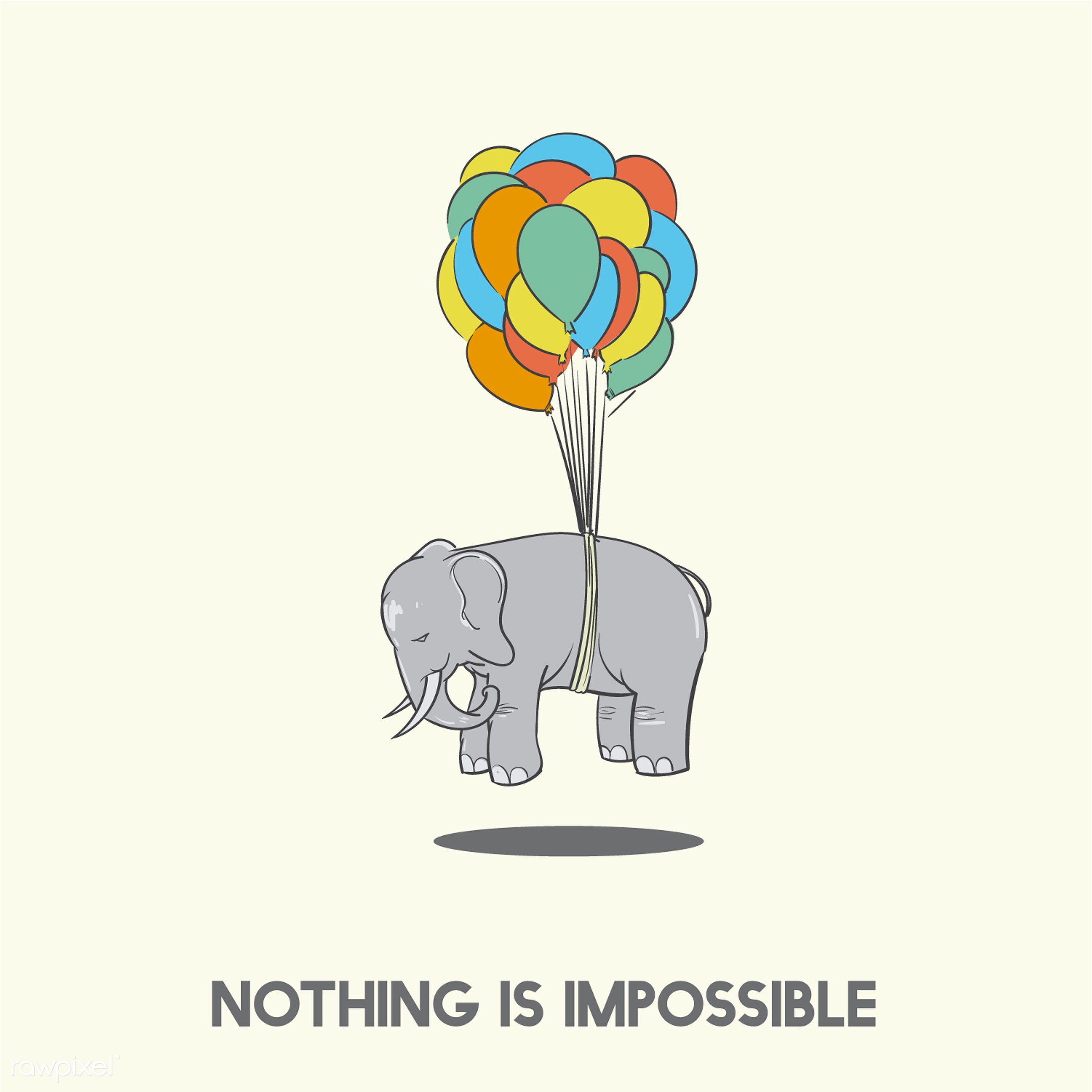 afloat, air, animal, art, balloon, creative, creativity, design, drawing, drawn, elephant, elevated, floating, flying,...