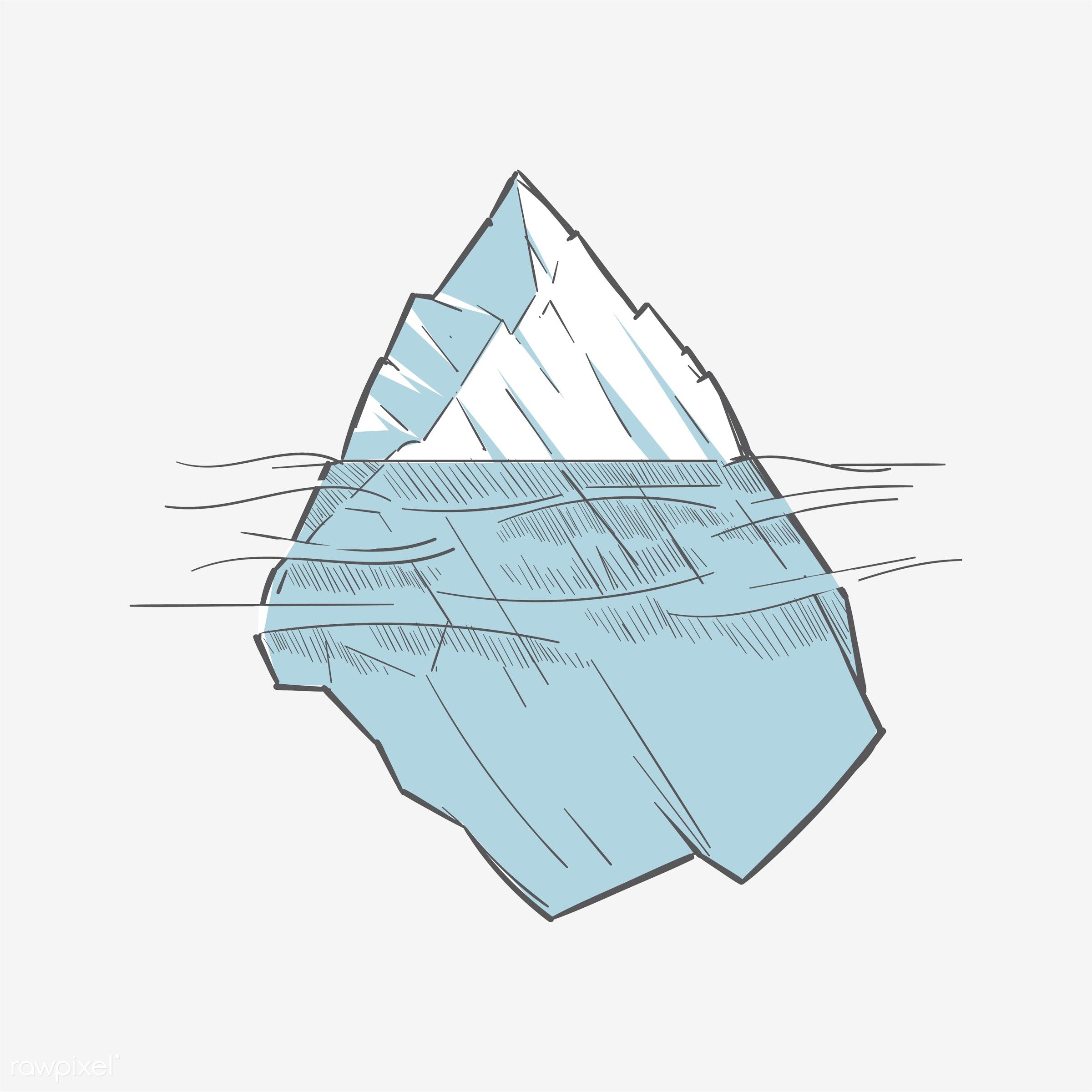 Hand drawing illustration of successful concept - ice, vector, winner, achievement, aim, art, artwork, business, challenge,...