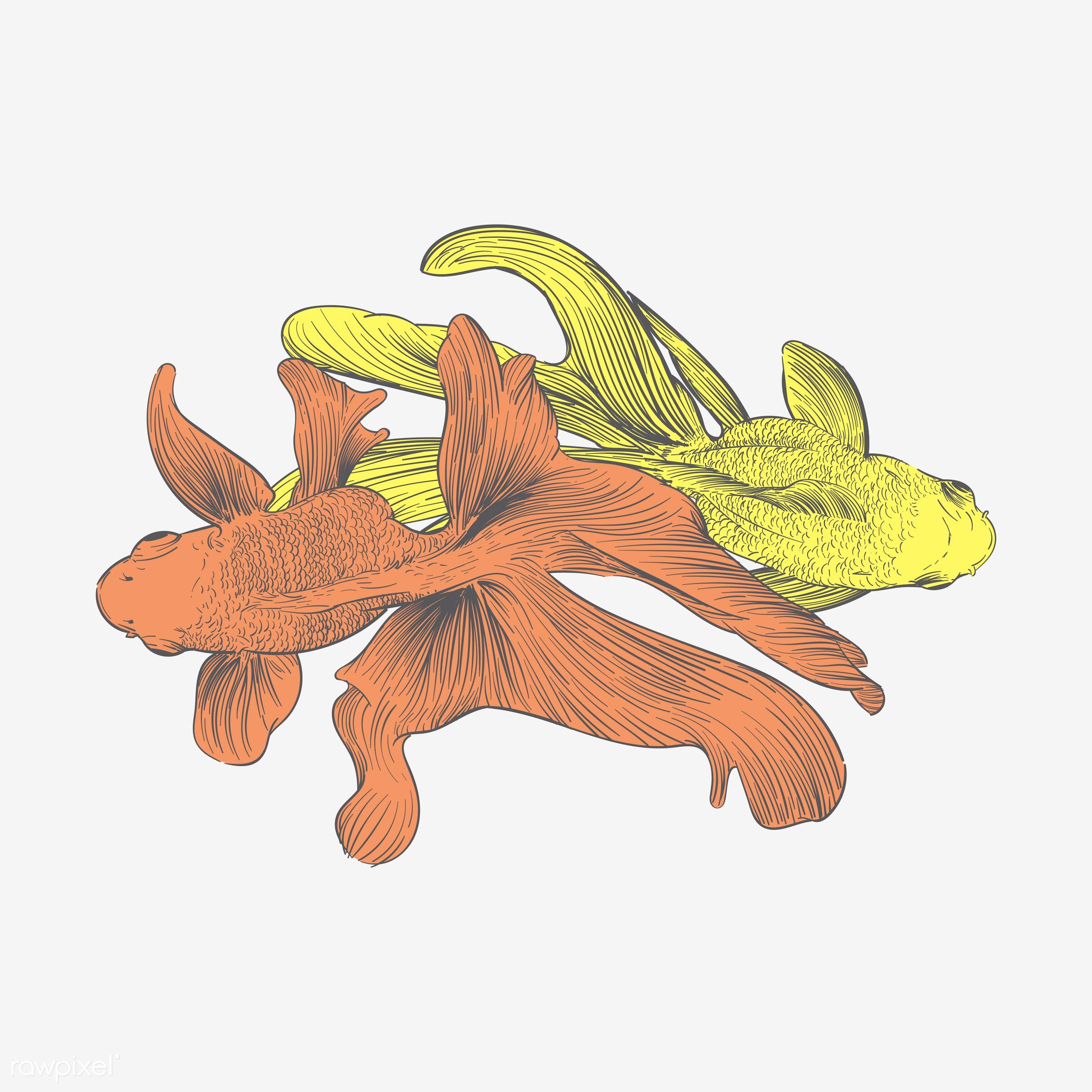 Hand drawing illustration of individuality concept - animal, art, artwork, contrast, creative, creativity, design,...