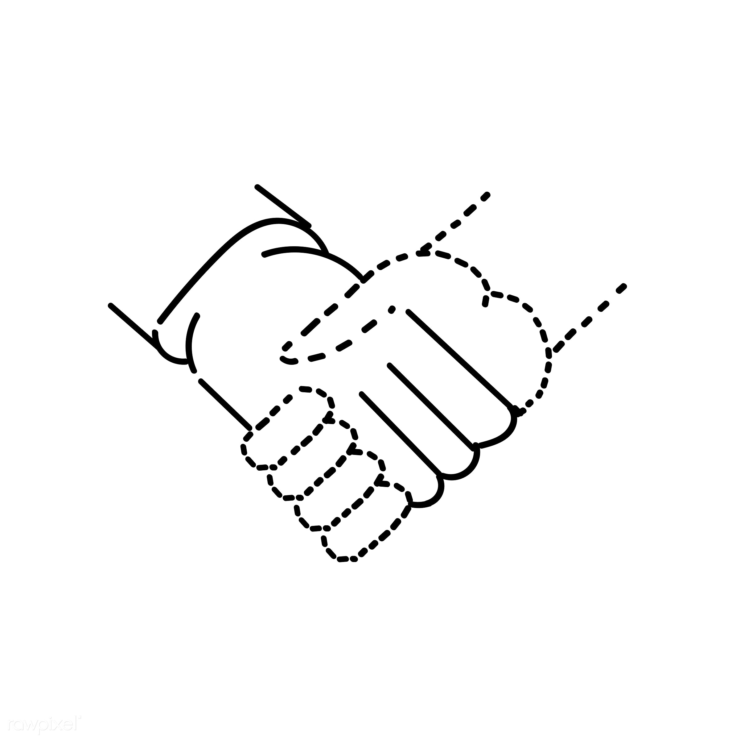Hand drawing illustration of communication concept - agreement, art, artwork, collaboration, communication, connection,...