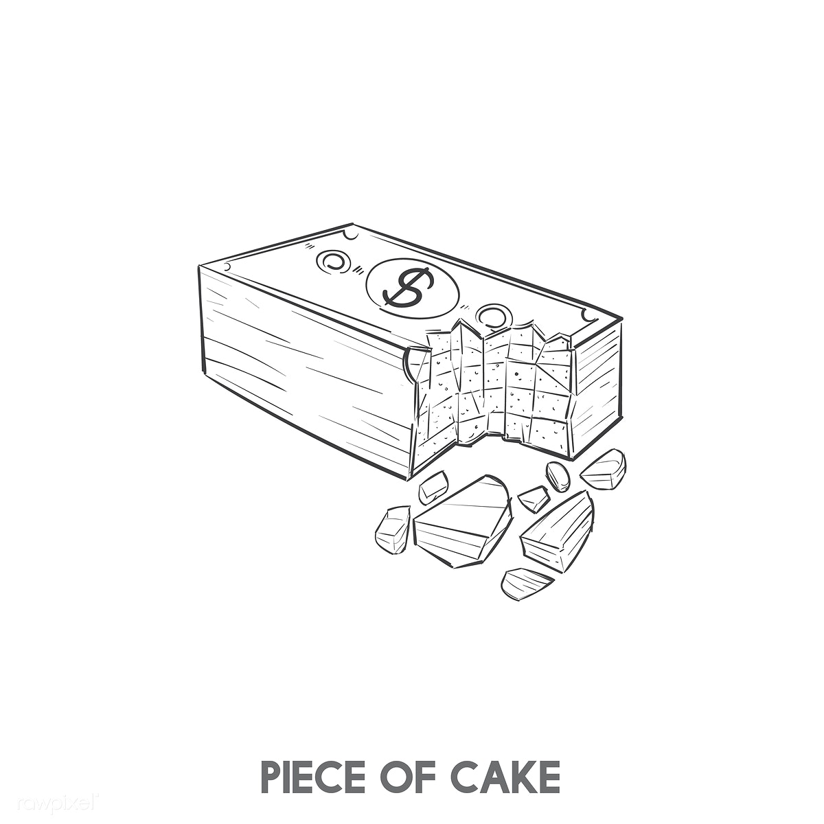 Animated Cake Cartoon Free Stock Illustration 407232