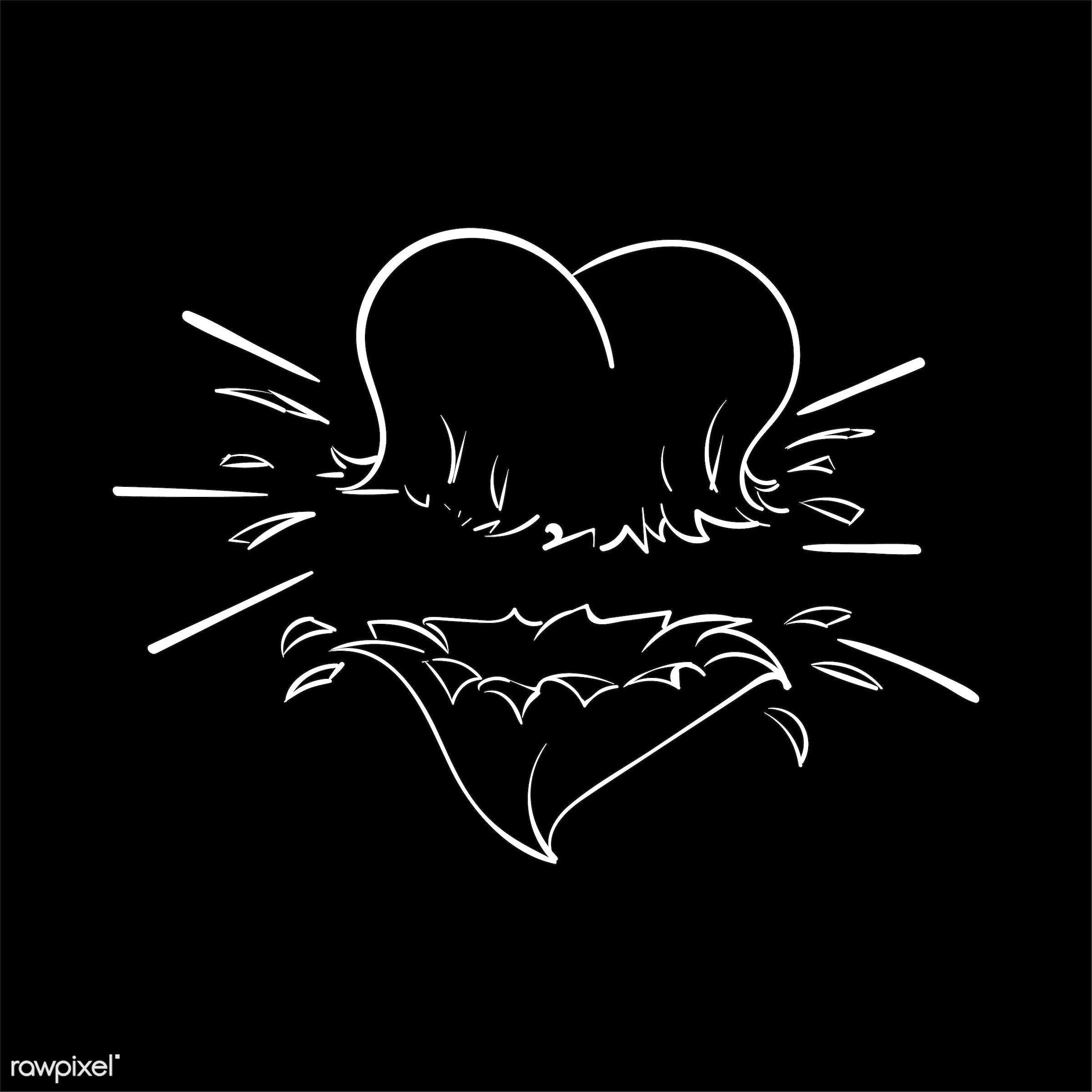 Hand drawing illustration set of love - art, artwork, breakup, broken heart, broken hearted, cares, collection, couple,...