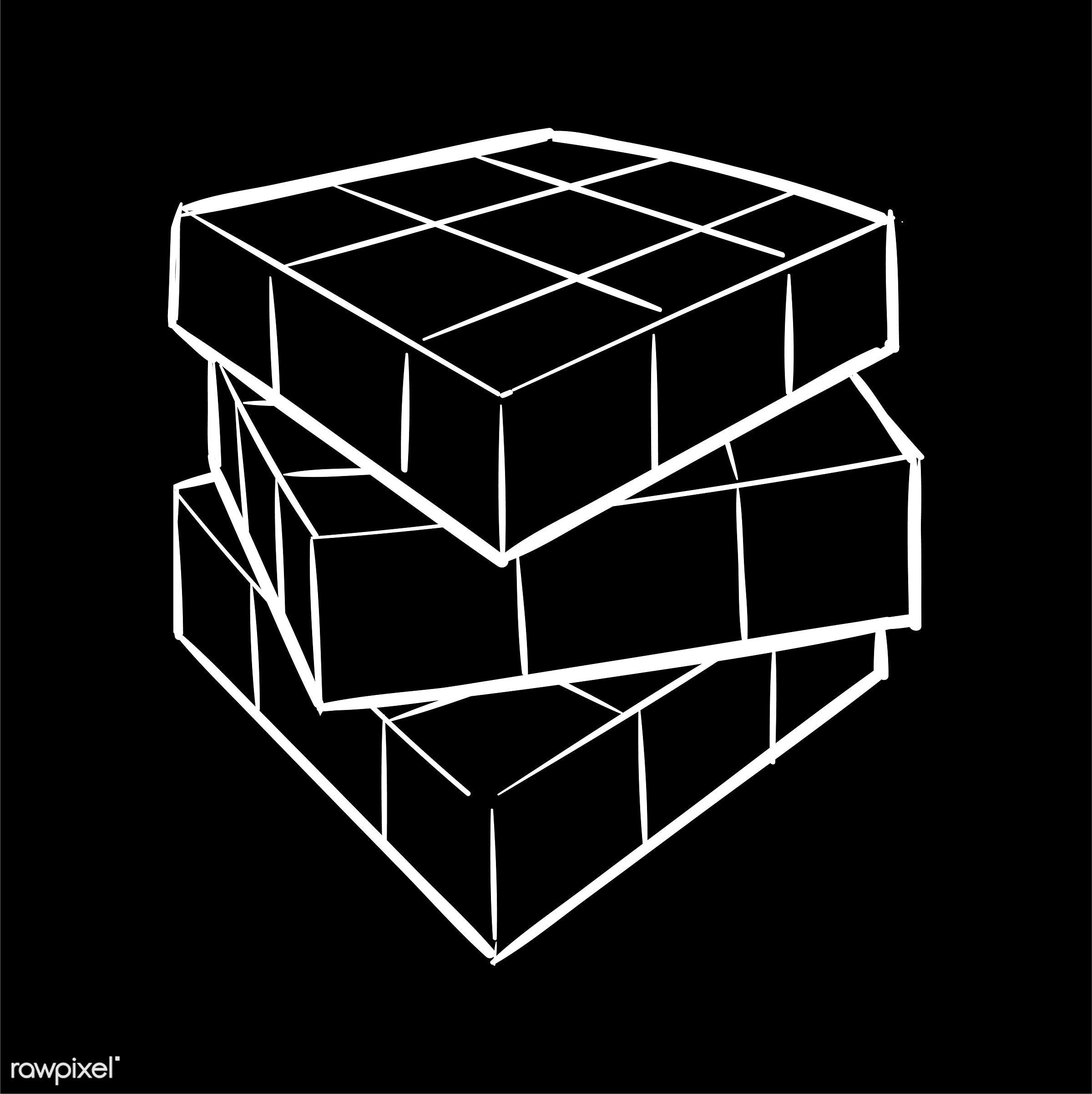 art, artwork, contrast, creative, creativity, cube, cubic, design, difference, different, draw, drawing, drawn, graphic,...