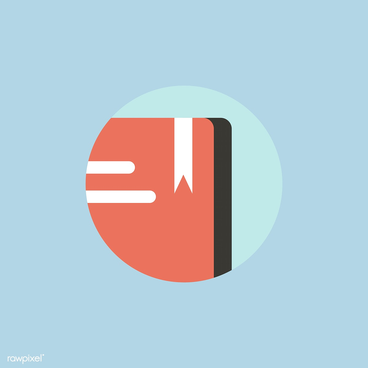 Vector Of Book Icon Free Stock Illustration 44270