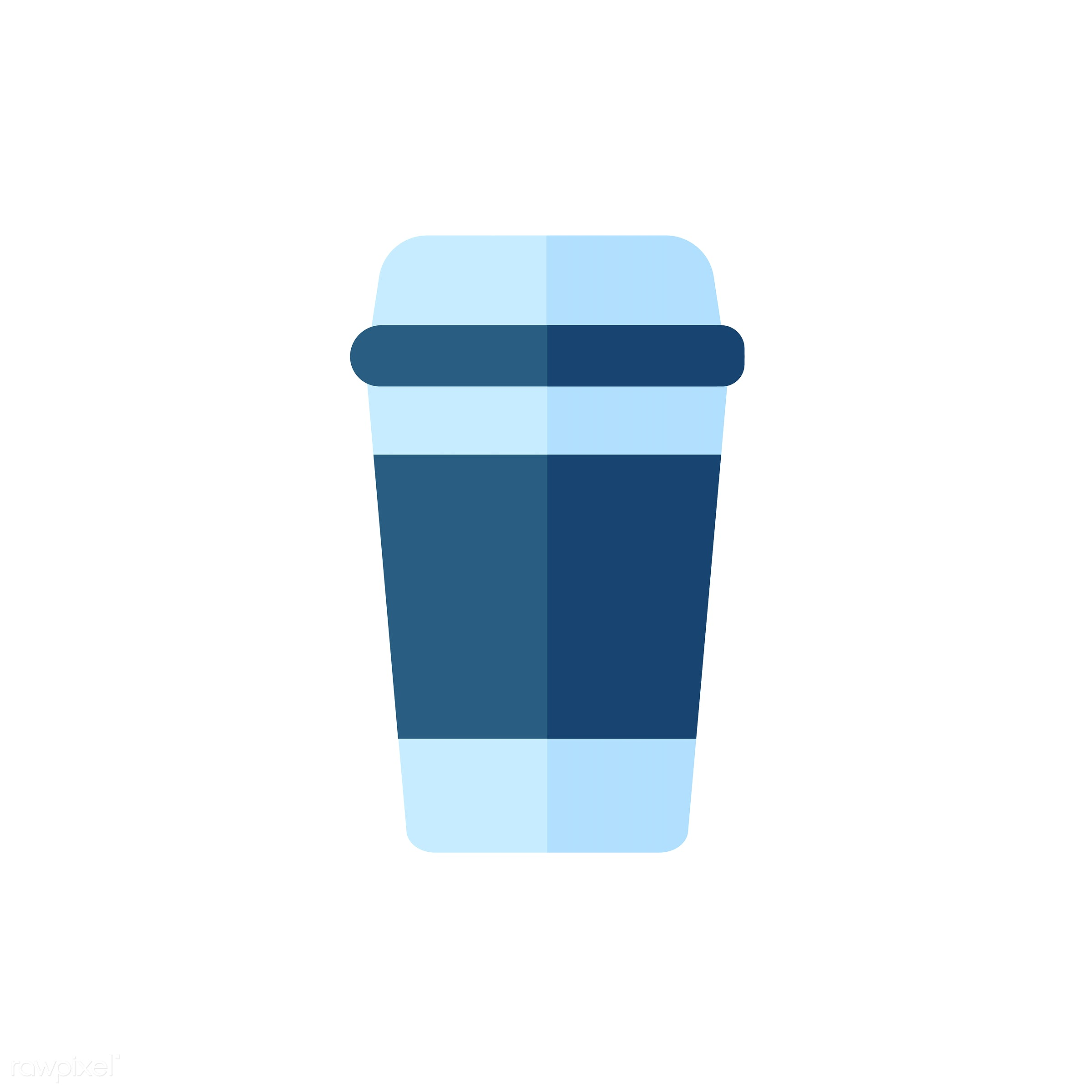 vector, graphic, illustration, icon, symbol, colorful, cute, drink, beverage, water, blue, takeaway, takeaway cup, takeaway...