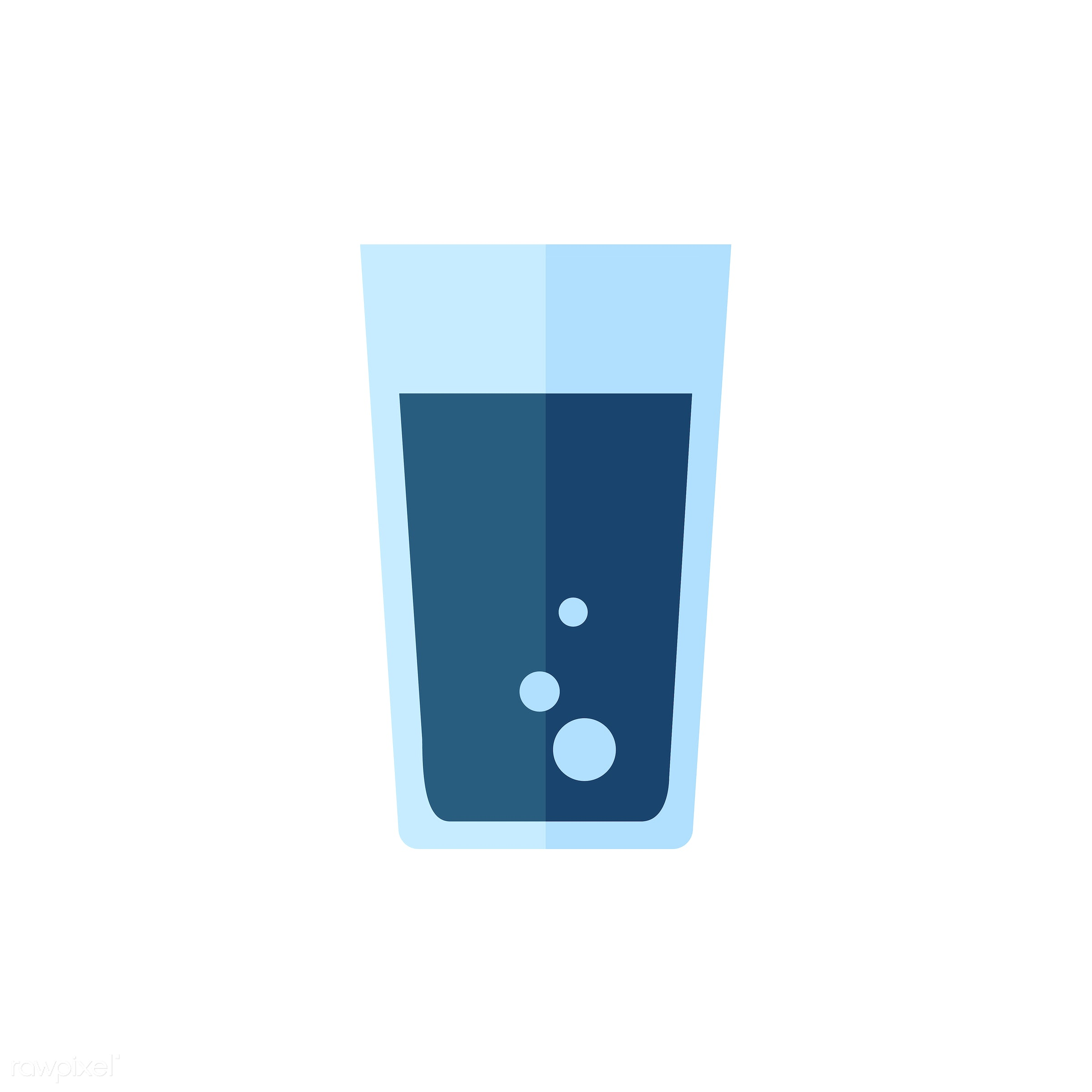 vector, graphic, illustration, icon, symbol, colorful, cute, drink, beverage, water, blue, soda, glass