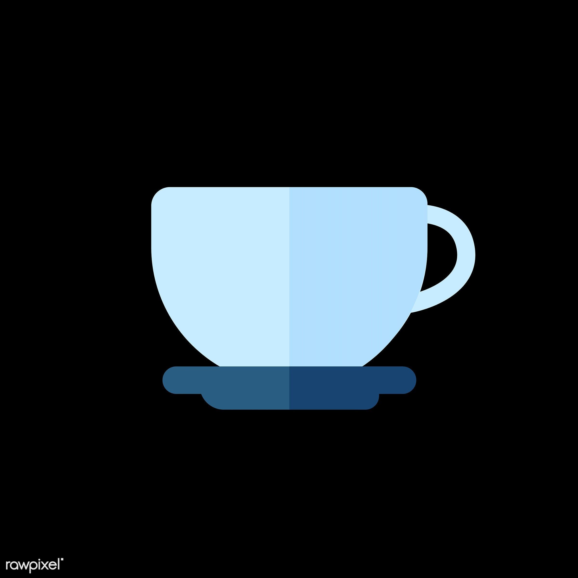 vector, graphic, illustration, icon, symbol, colorful, cute, mug, tea, tea cup, hot drink, drink, beverage, water, blue,...