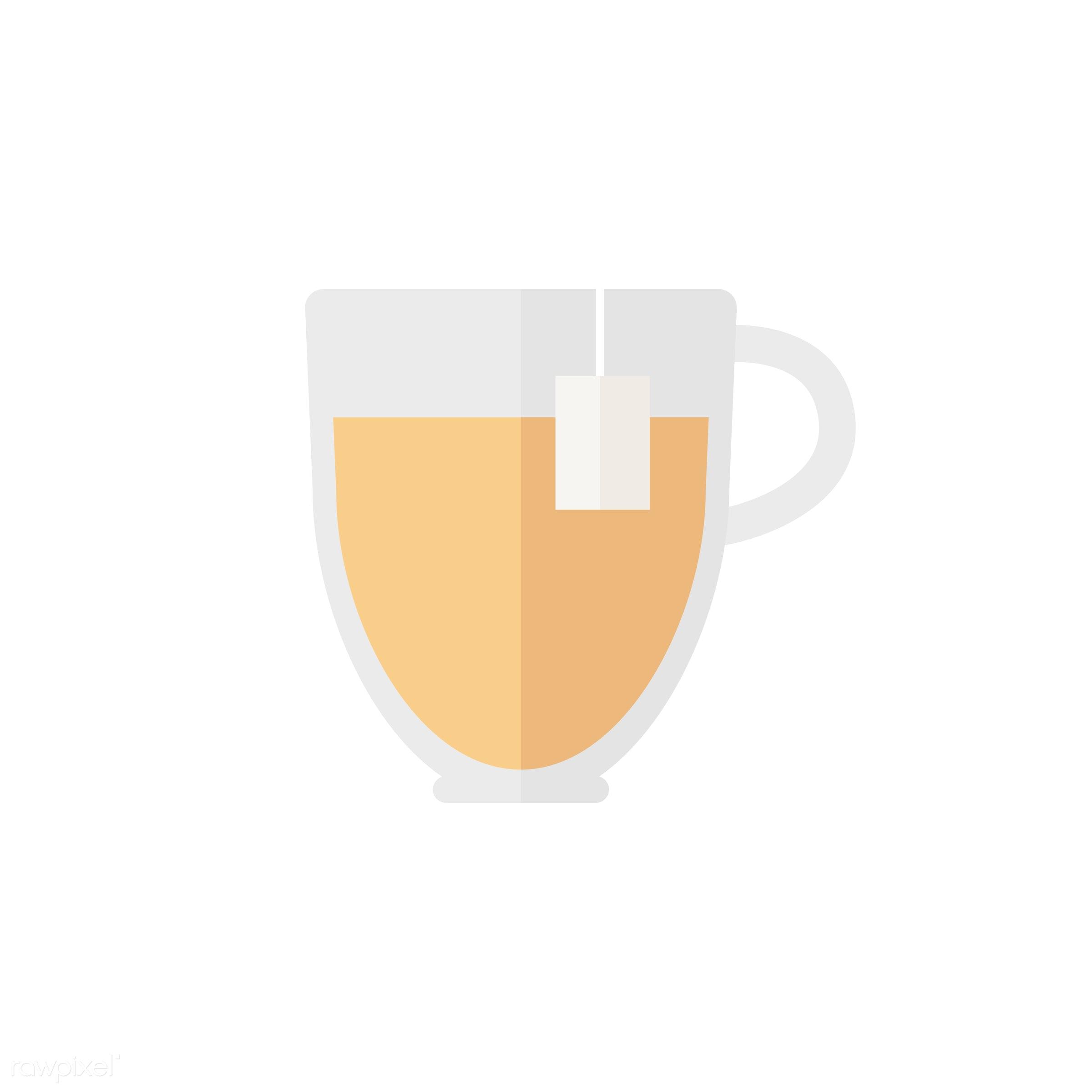 vector, graphic, illustration, icon, symbol, colorful, cute, mug, tea, tea cup, hot drink, drink, beverage, water