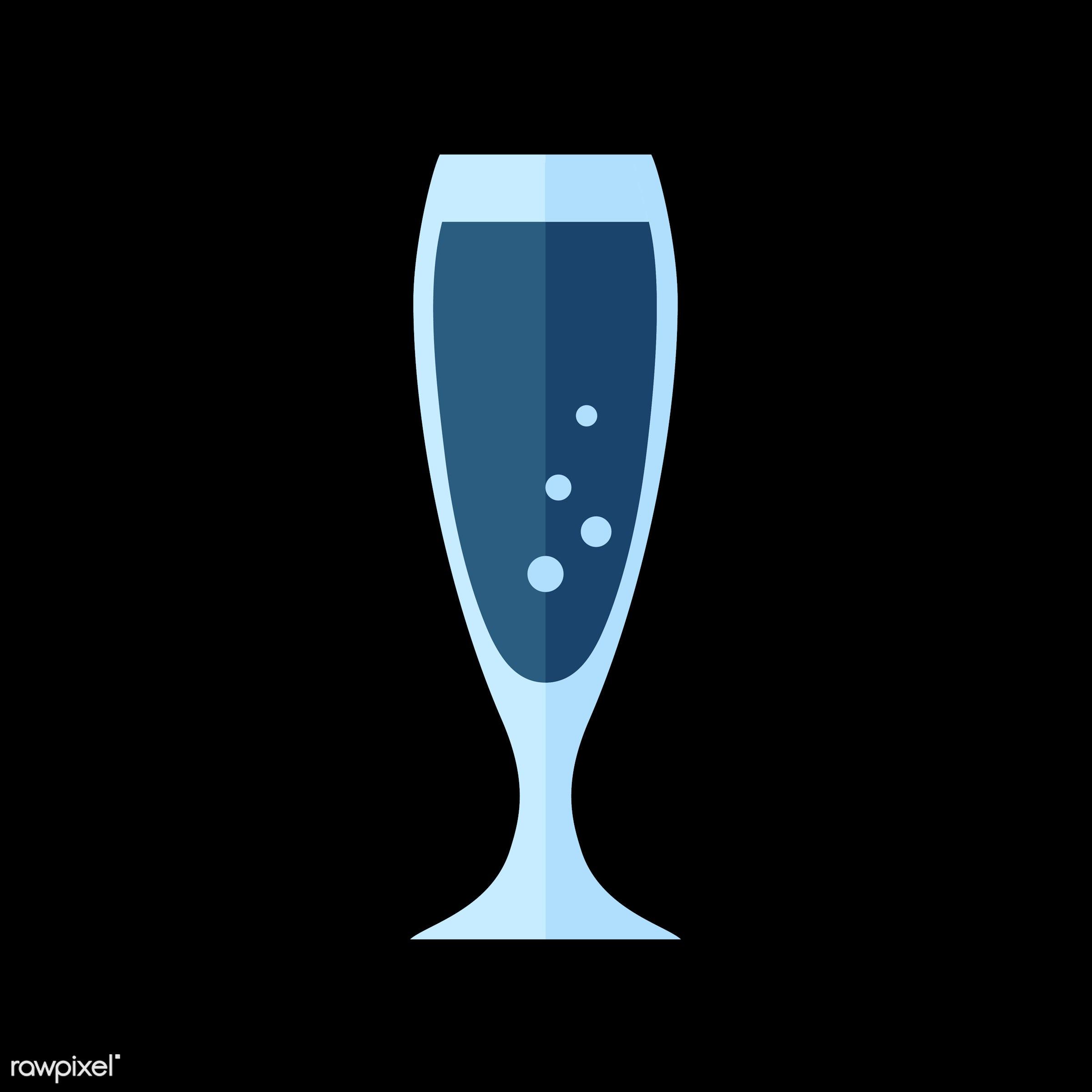 Sparkling wine vector - vector, graphic, illustration, icon, symbol, colorful, cute, drink, water, beverage, soda, sparkling...