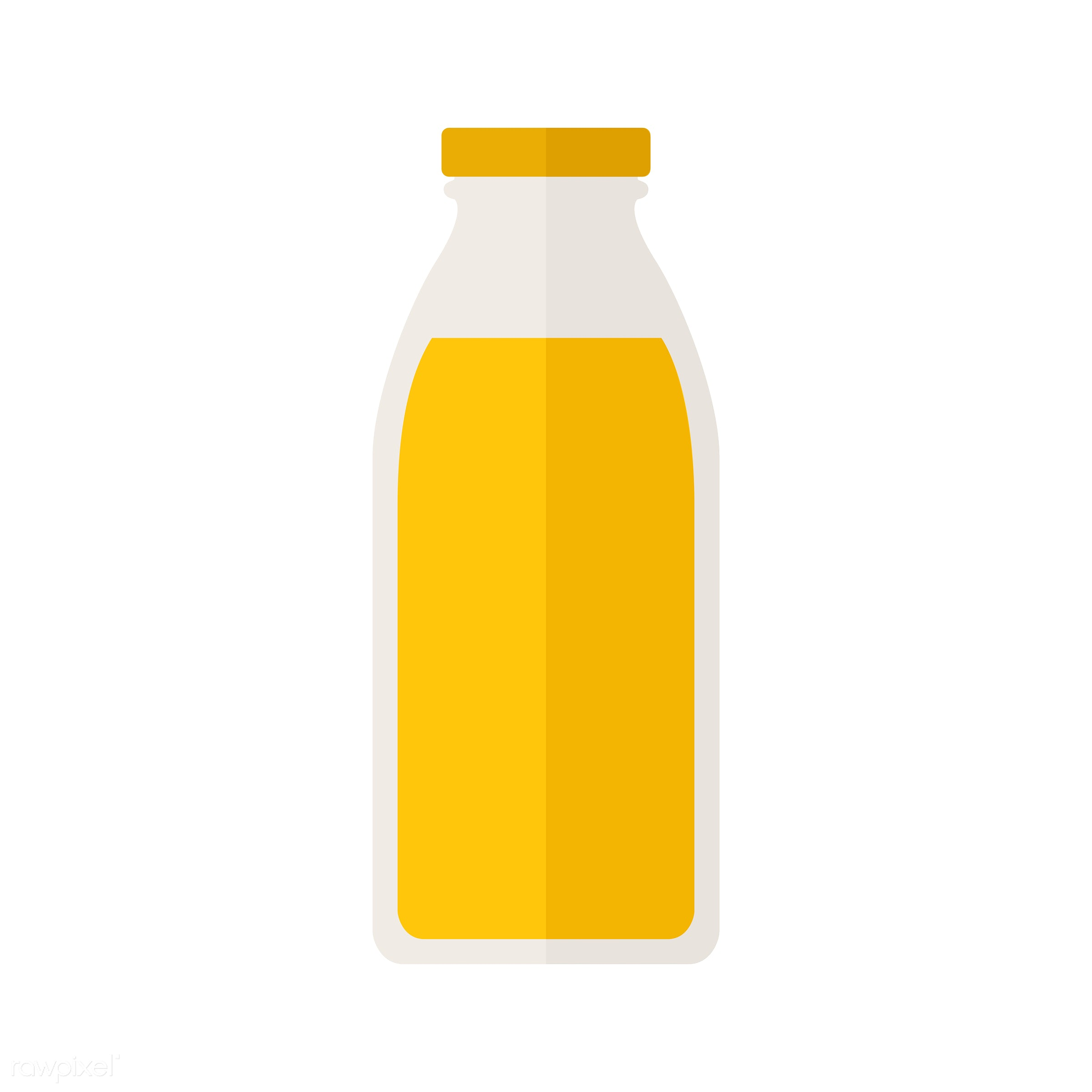 vector, graphic, illustration, icon, symbol, colorful, cute, drink, beverage, water, bottle, glass bottle, soda, sweet drink...