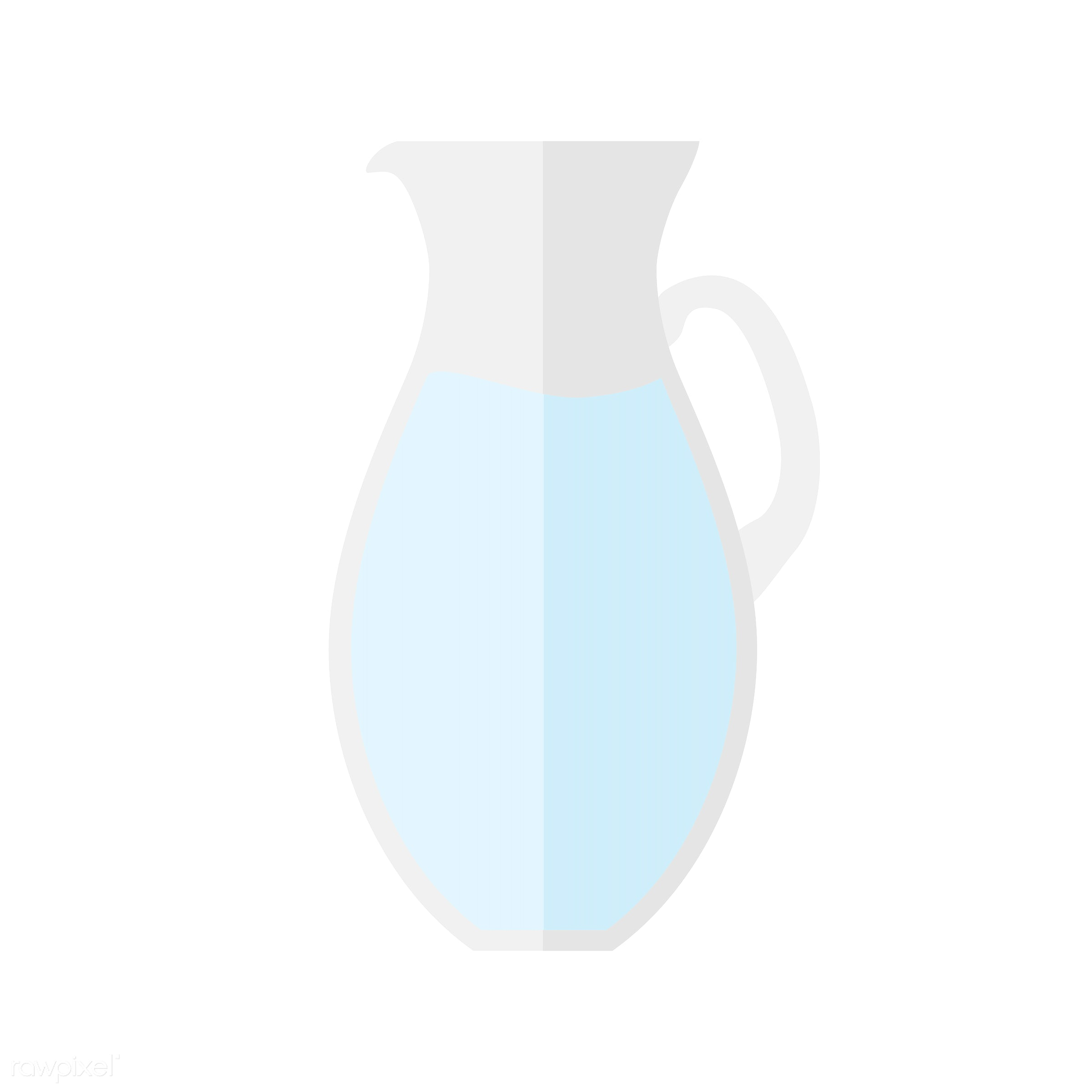 vector, graphic, illustration, icon, symbol, colorful, cute, drink, beverage, water