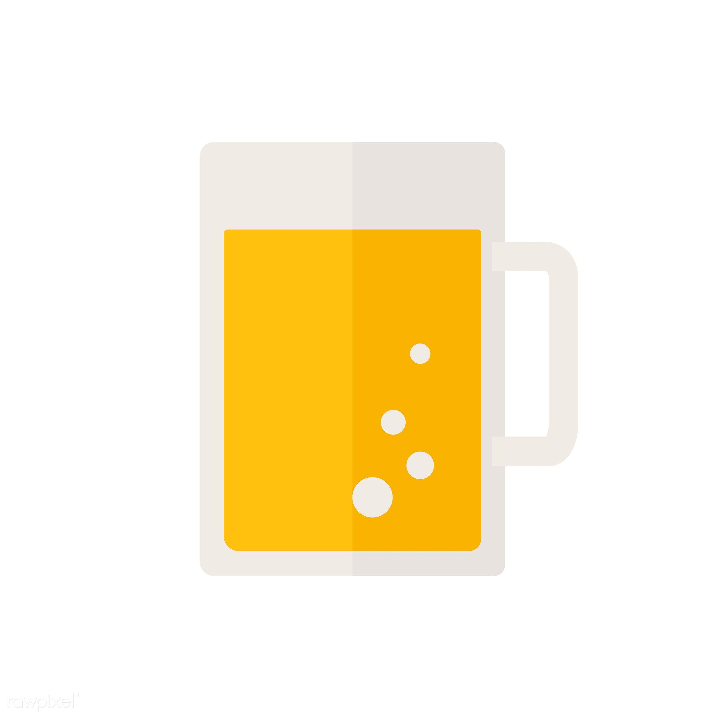 Jug of beer vector - vector, graphic, illustration, icon, symbol, colorful, cute, drink, beverage, water, jug, beer jug,...