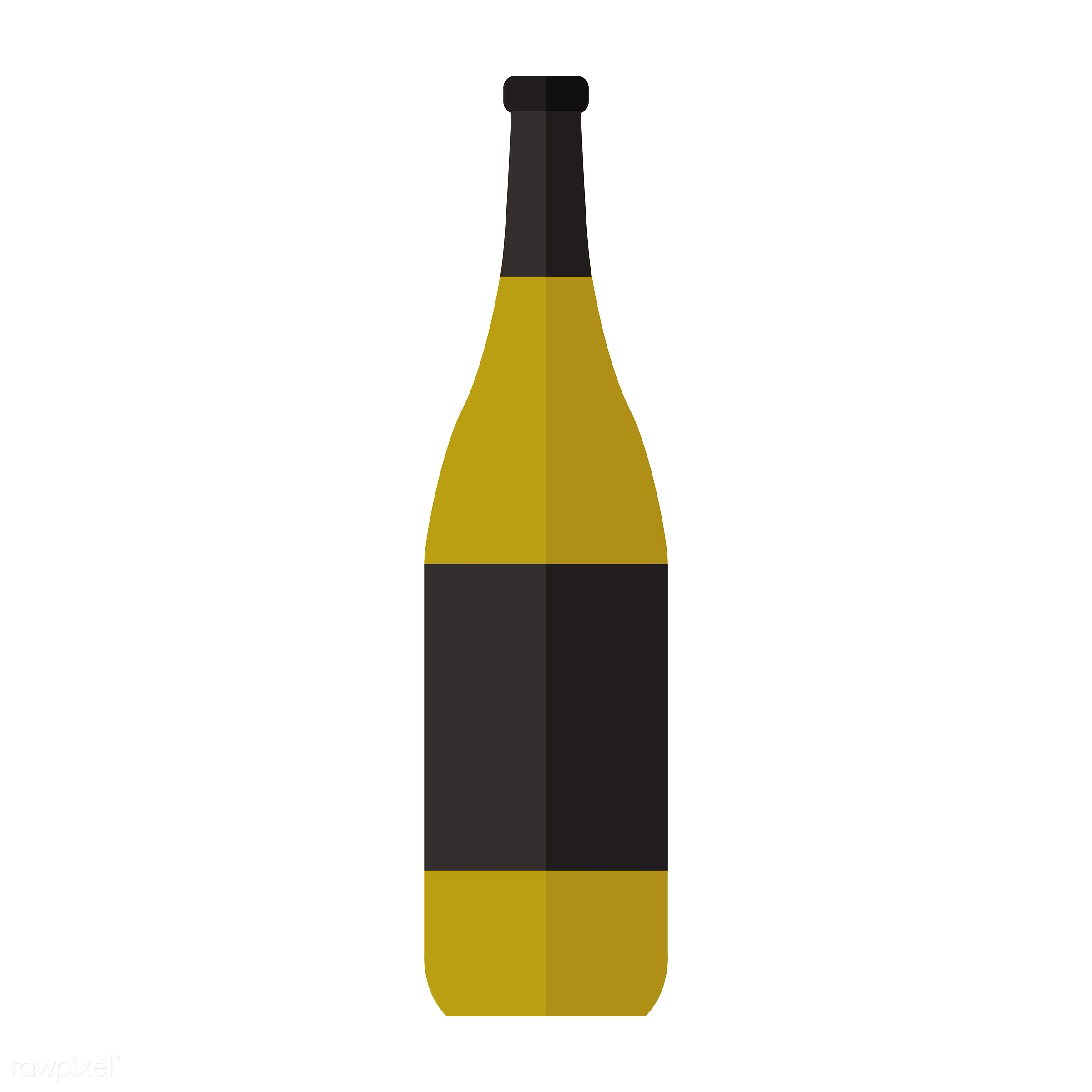 vector, graphic, illustration, icon, symbol, colorful, cute, drink, beverage, water, wine, white wine, wine bottle