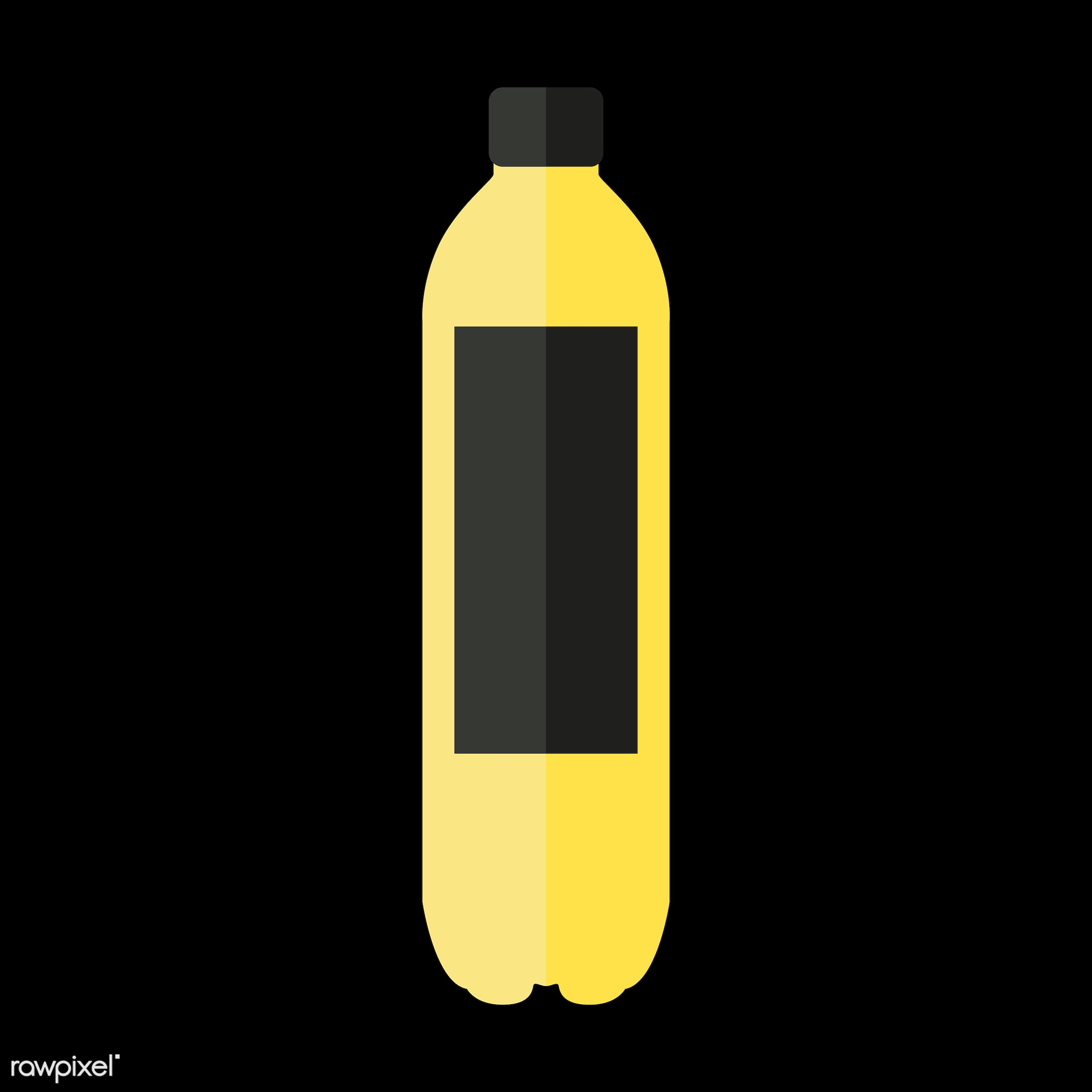 Soda bottle vector - vector, graphic, illustration, icon, symbol, colorful, cute, drink, beverage, water, soda, soda bottle...