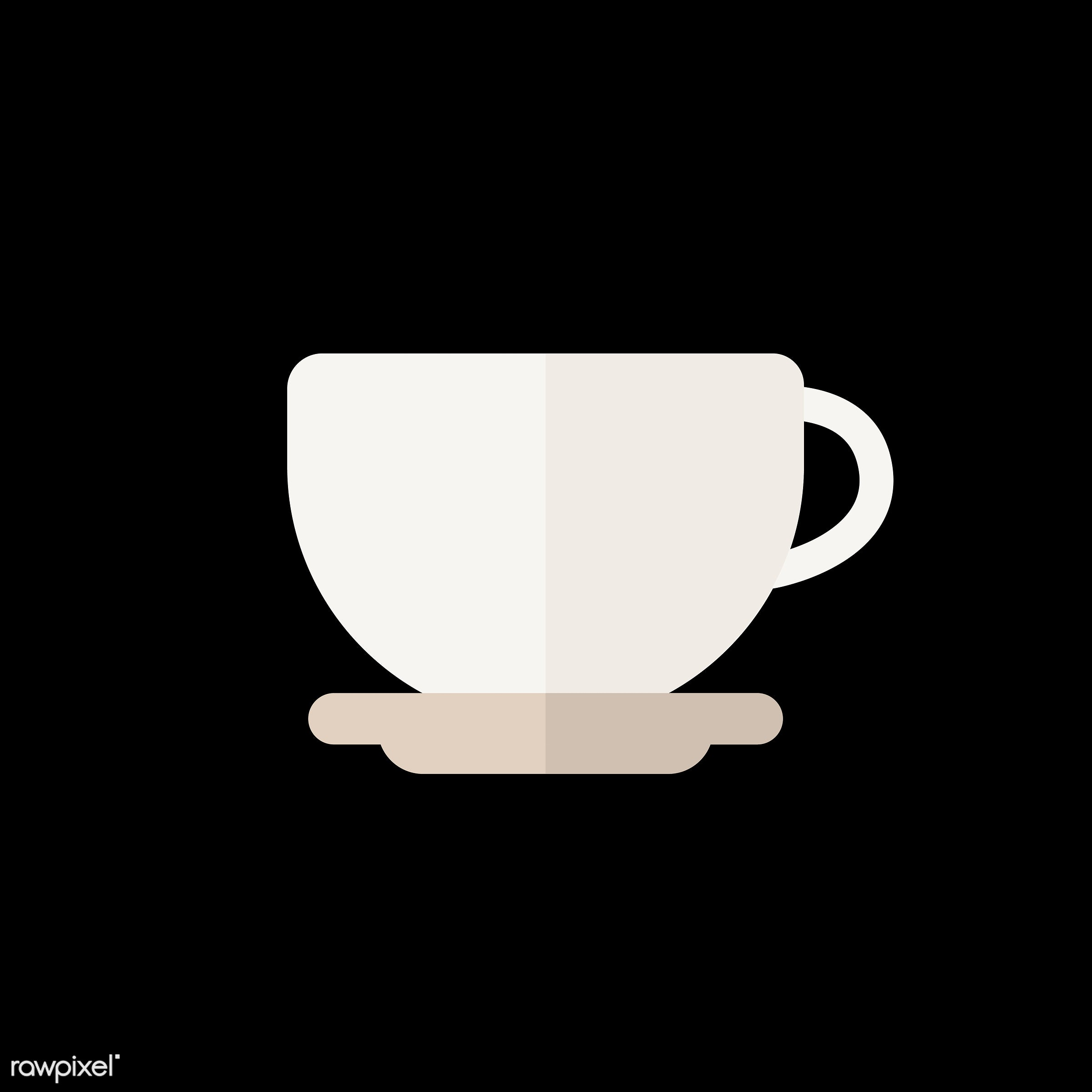 vector, graphic, illustration, icon, symbol, colorful, cute, drink, beverage, water, coffee, coffee cup, coffee mug, tea,...