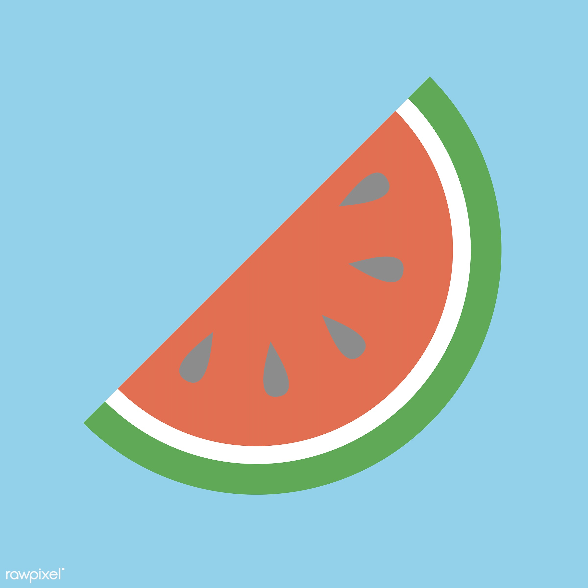 vector, illustration, graphic, cute, sweet, girly, pastel, fruit, watermelon, isolated